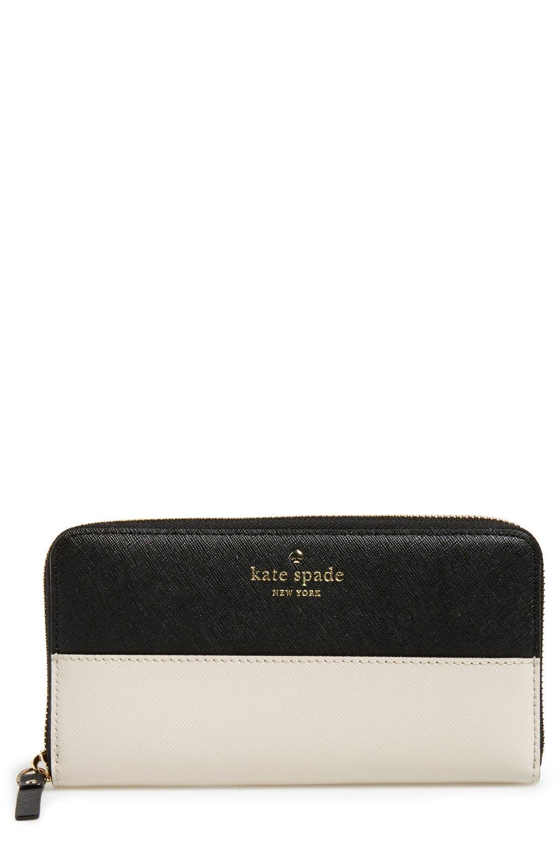 Alternate Image 1 Selected - kate spade new york 'cedar street - lacey' wallet