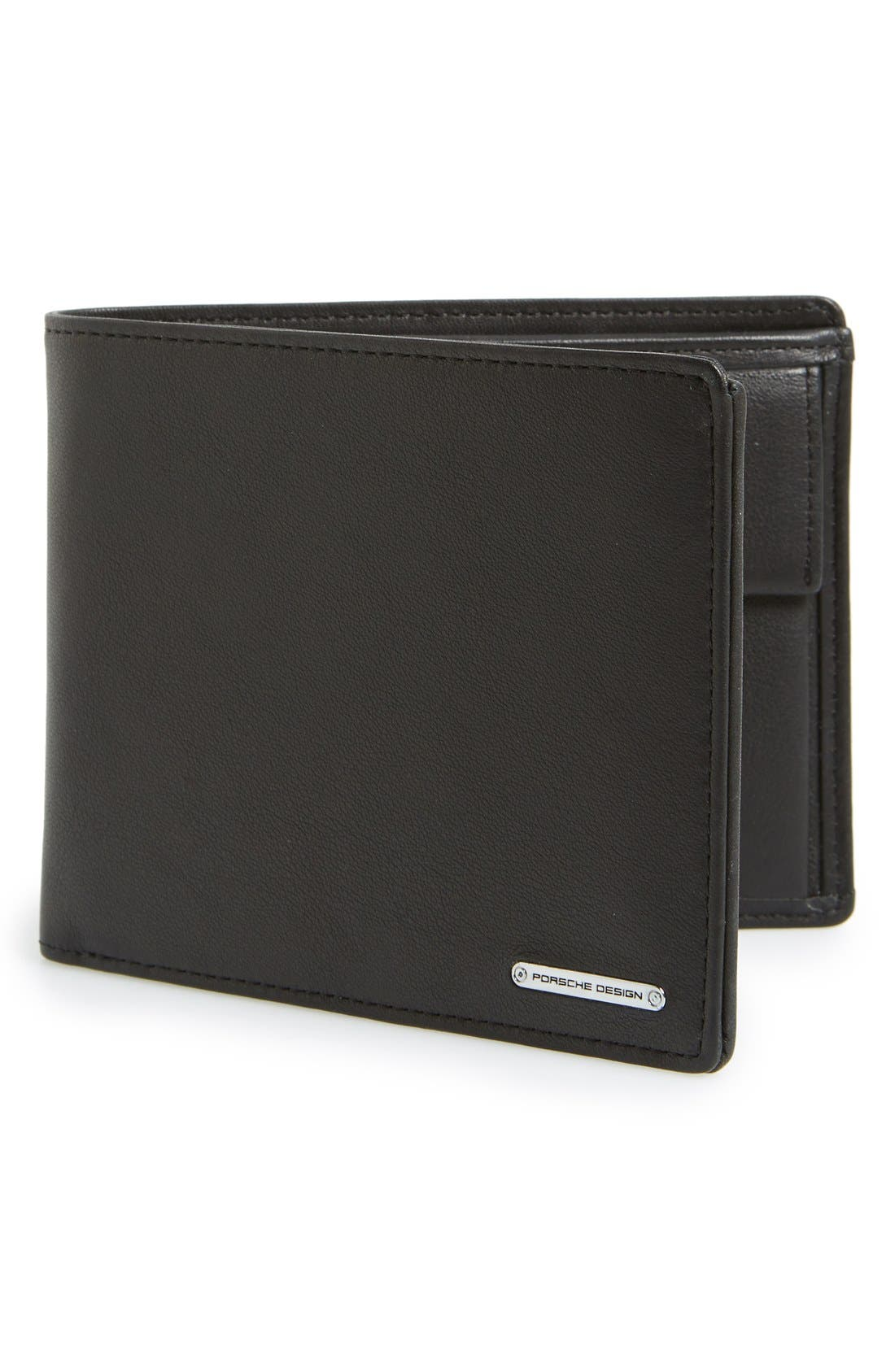 PORSCHE DESIGN 'CL2 2.0' Leather Billfold Wallet