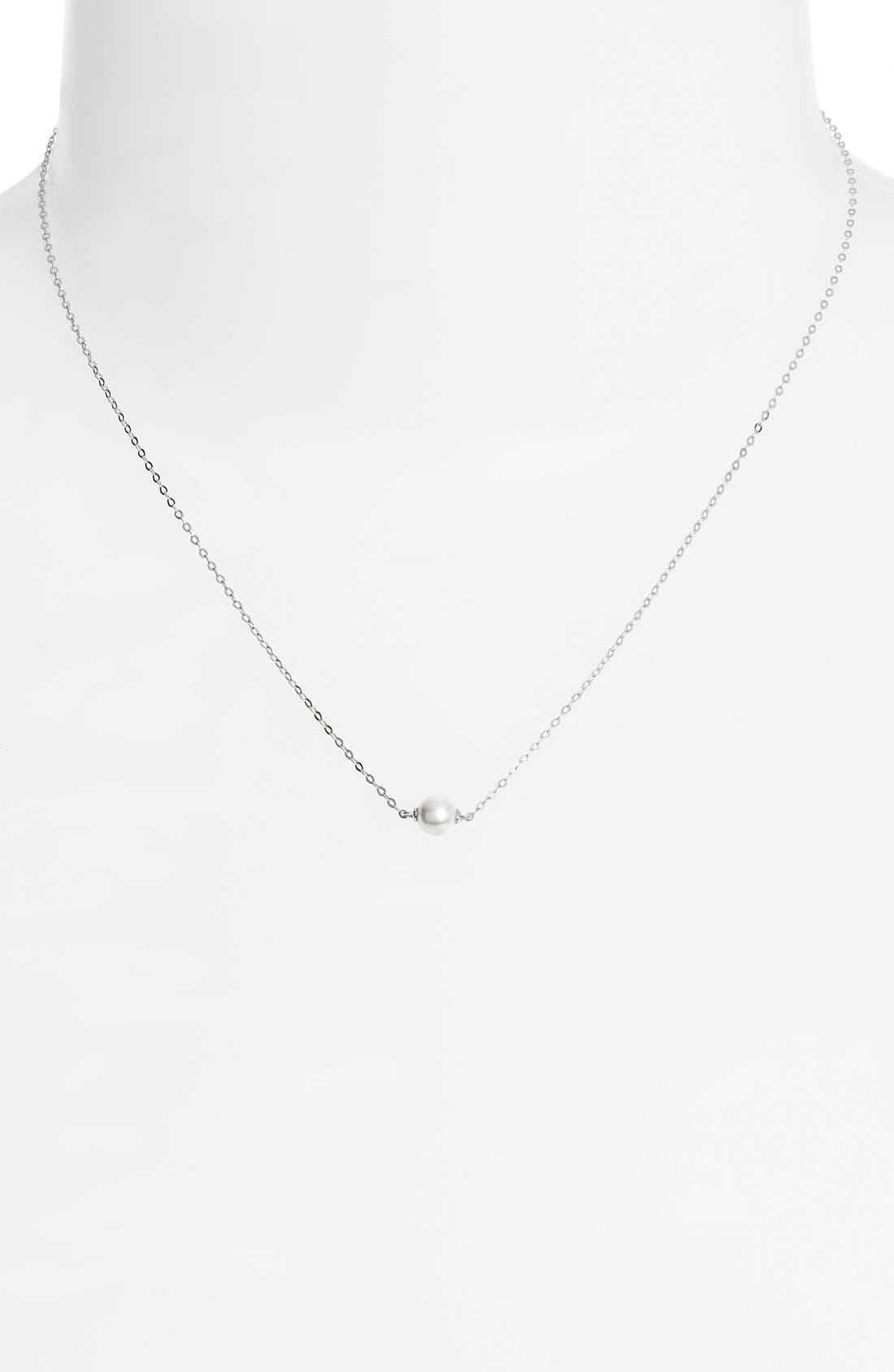 Alternate Image 2  - Nadri Imitation Pearl Necklace