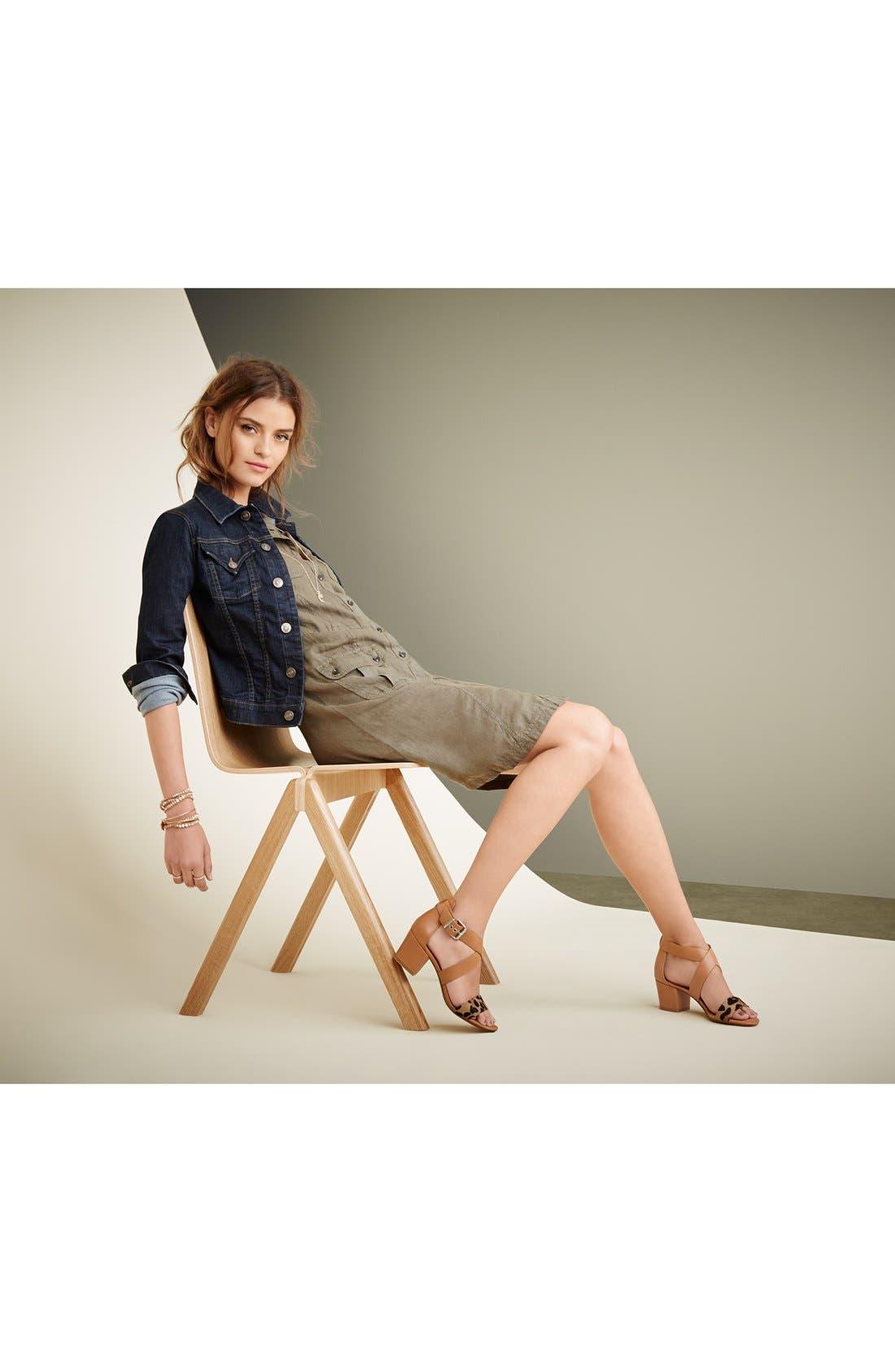 Alternate Image 5  - Halogen 'Rena' Crisscross Strap Sandal (Women)