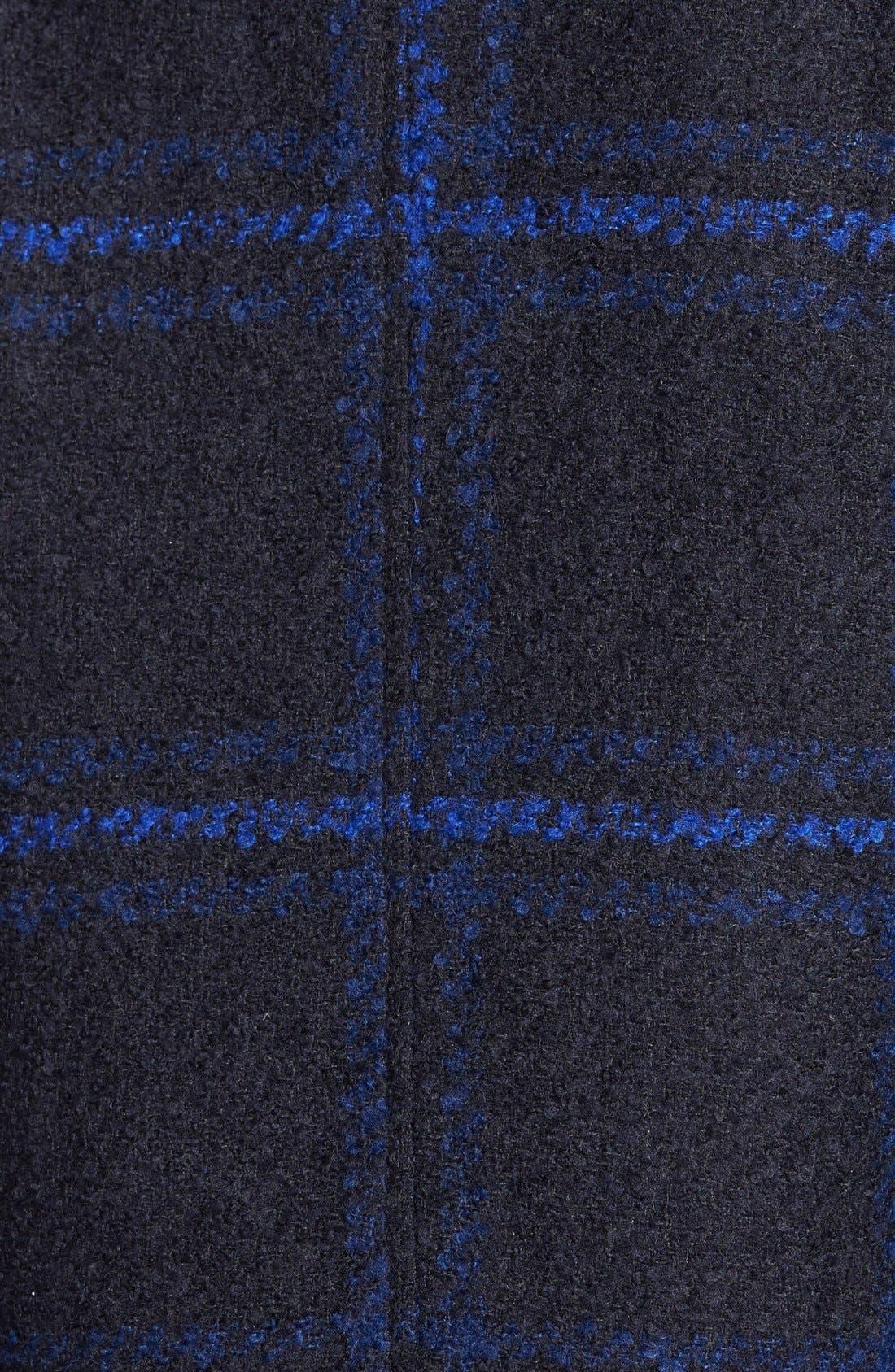 Alternate Image 3  - Maralyn & Me Plaid A-Line Jacket  (Online Only)