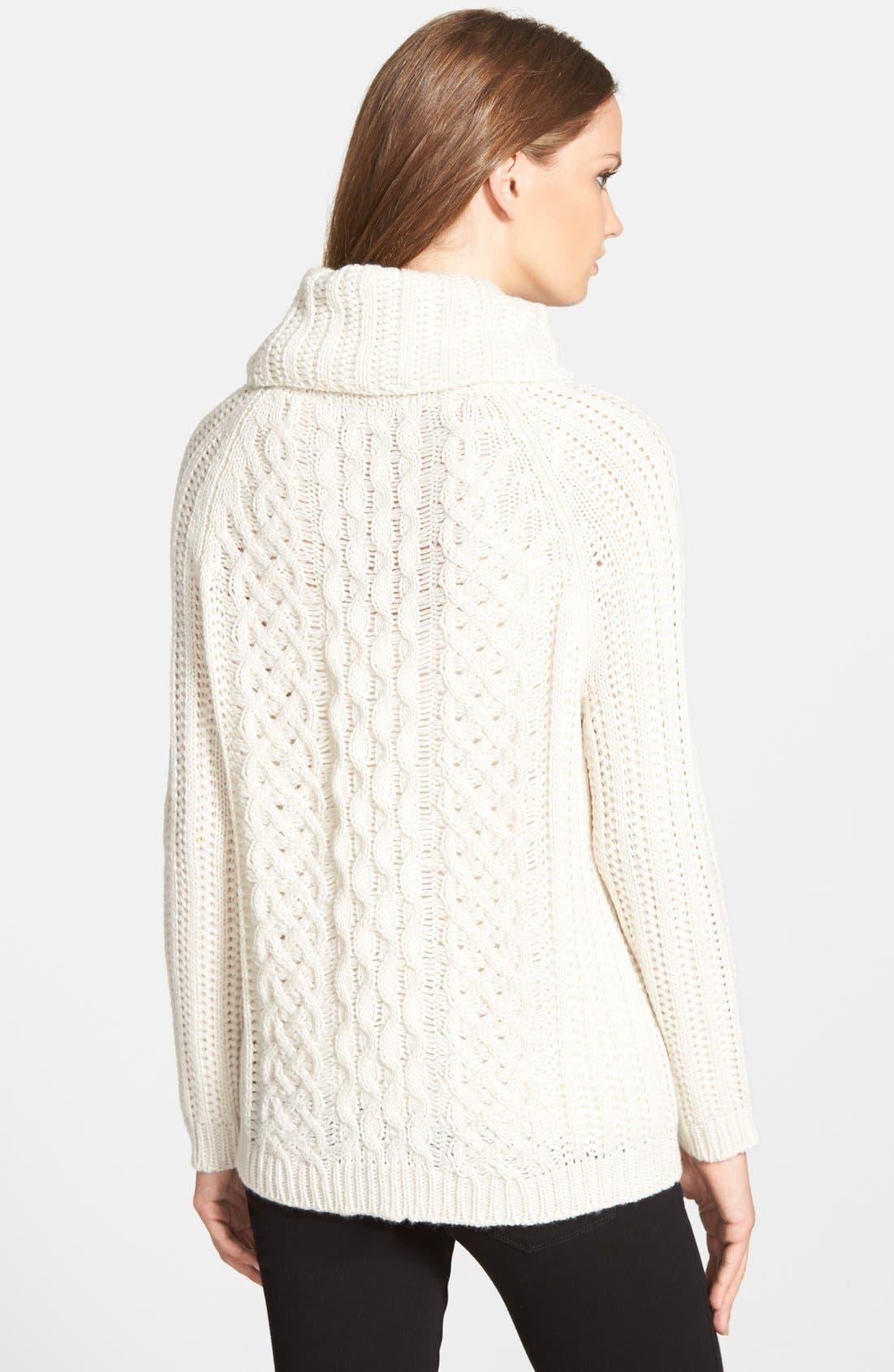 Alternate Image 2  - cupcakes and cashmere 'Sleepy Hollow' Turtleneck Sweater