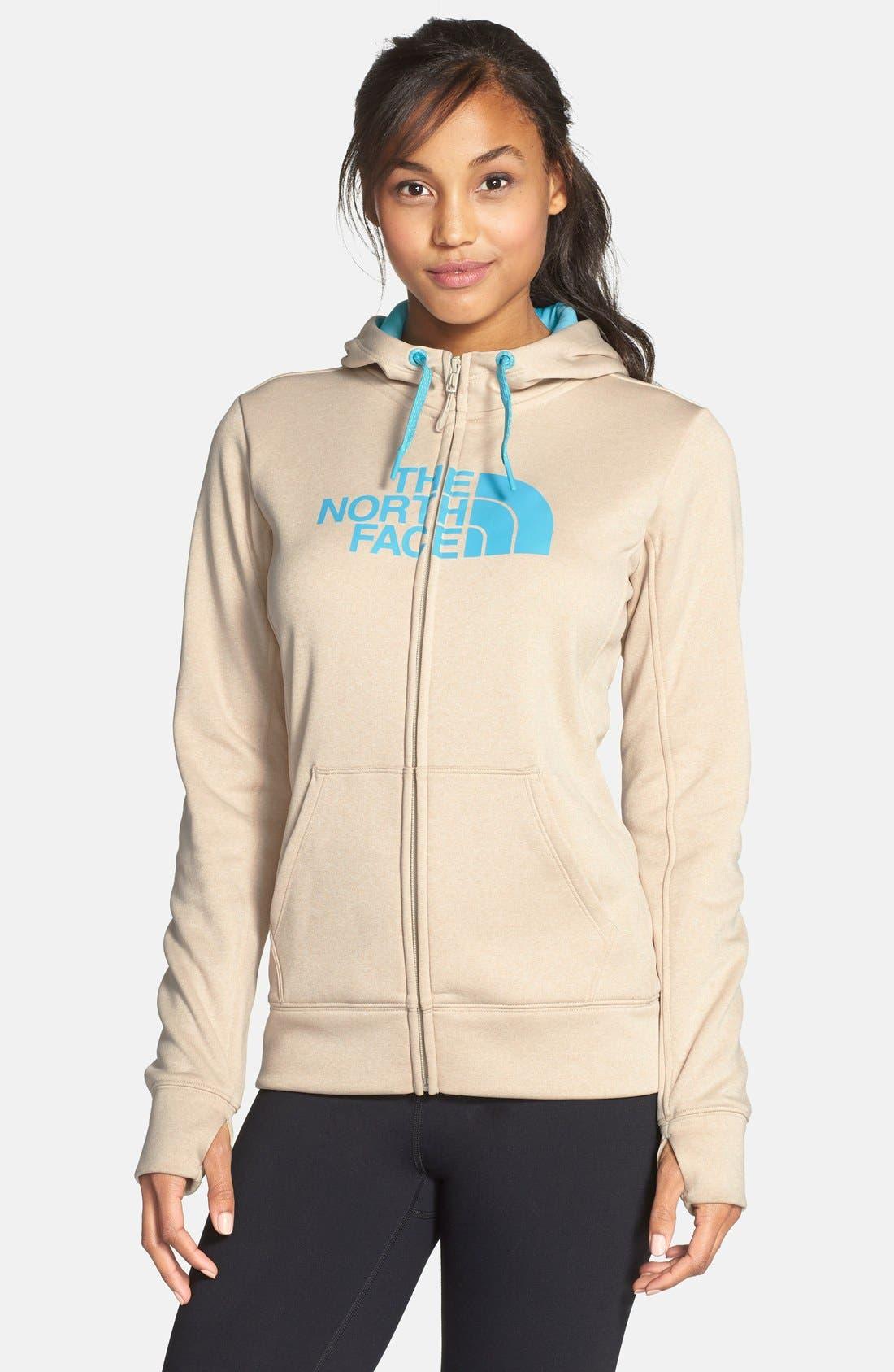Main Image - The North Face 'Half Dome' Full Zip Fleece Hoodie