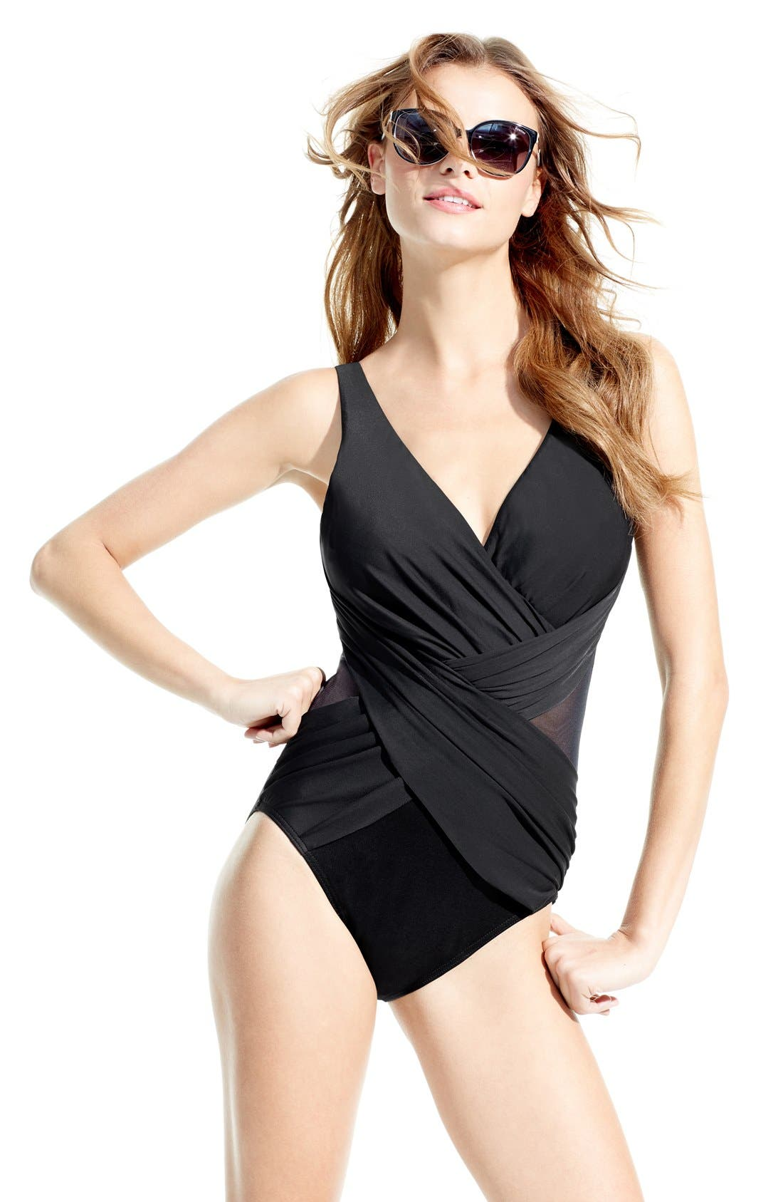 Alternate Image 4  - Miraclesuit® One-Piece Swimsuit (Online Only)