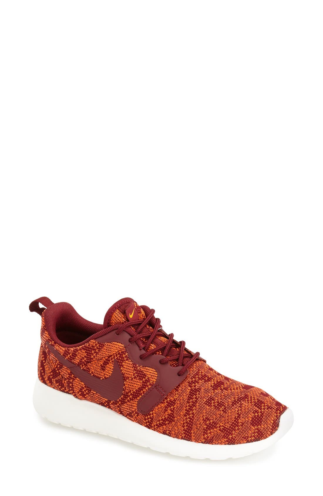 Alternate Image 1 Selected - Nike 'Roshe Run' Jacquard Sneaker (Women)