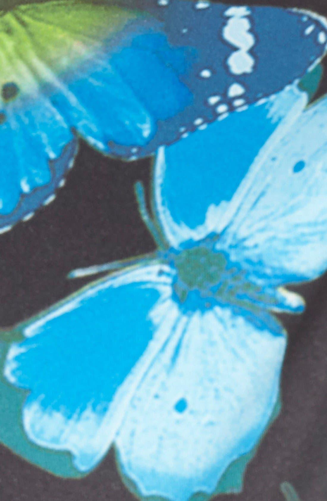 Alternate Image 3  - Ted Baker London 'Aly' Butterfly Print Neoprene Body-Con Dress