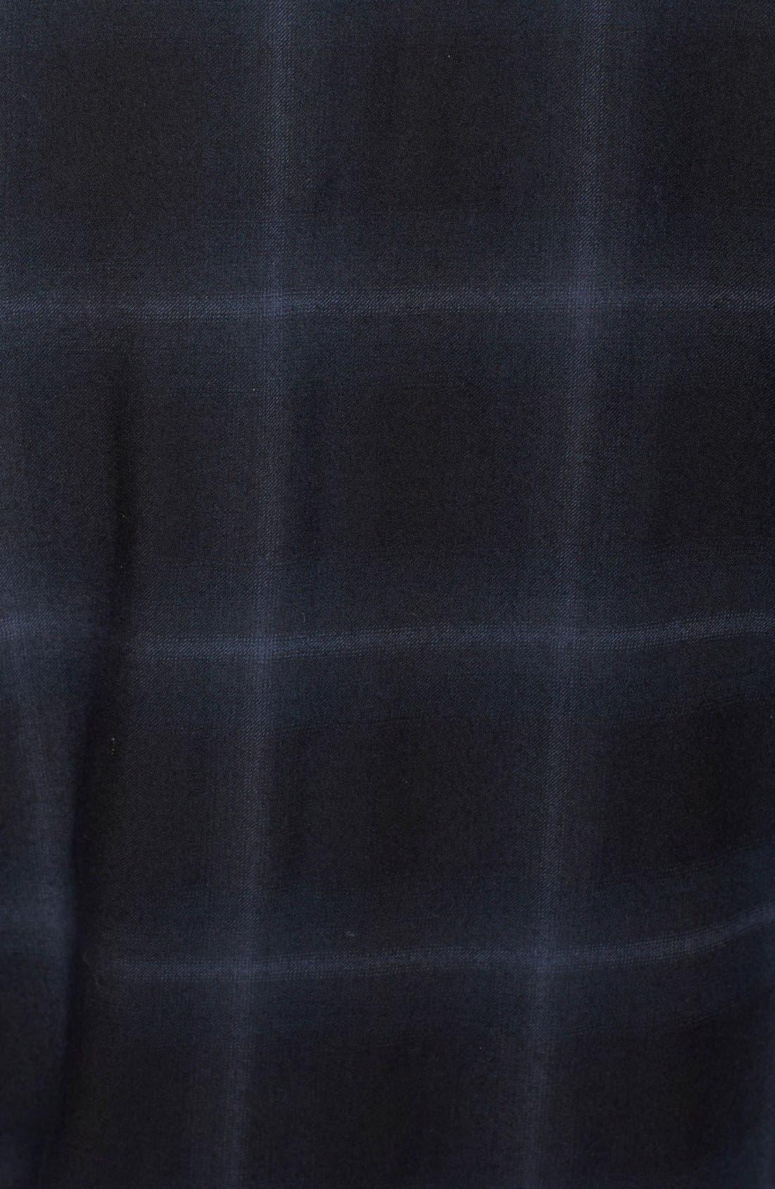 Alternate Image 3  - Helmut Lang Plaid Wool & Cashmere Flannel Shirt
