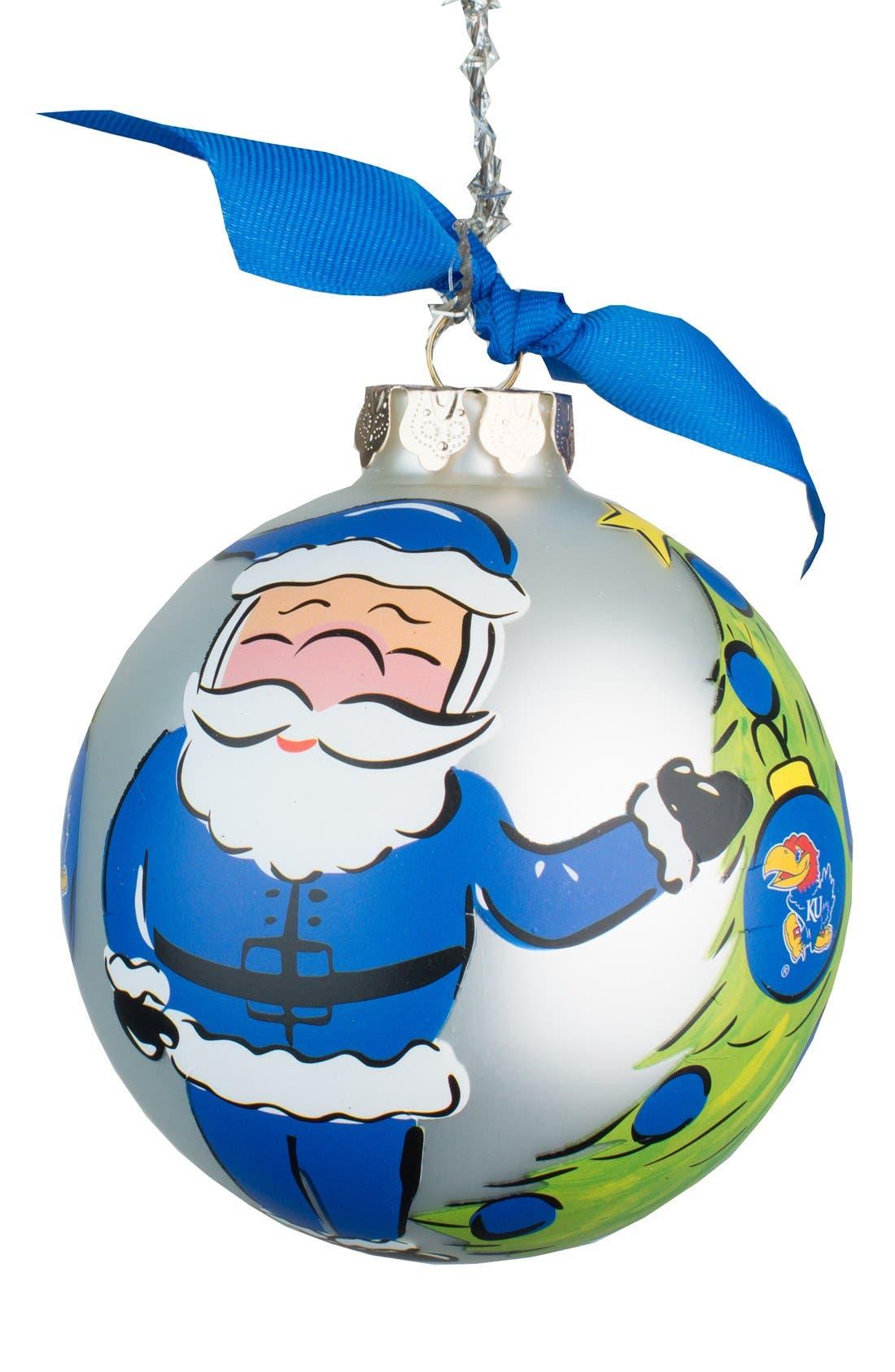 Main Image - Glory Haus Collegiate Santa Ornament