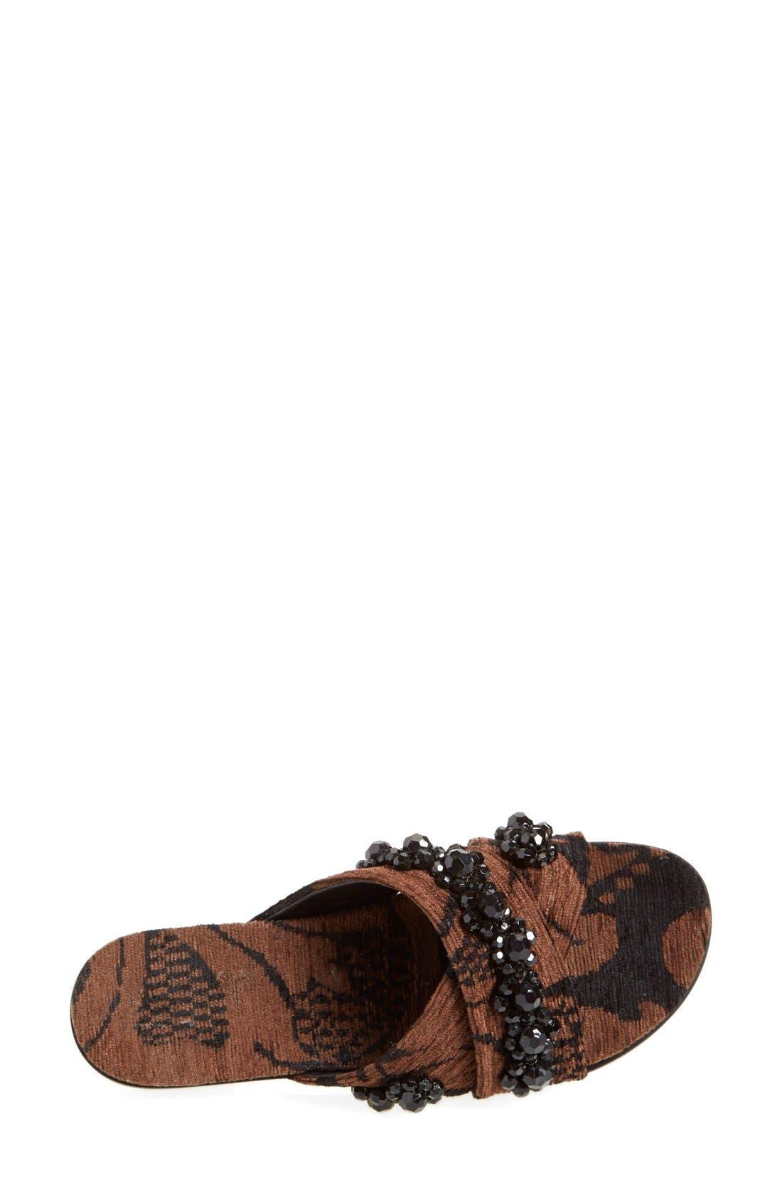 Alternate Image 3  - Simone Rocha Jeweled Slip-On Sandal (Women)