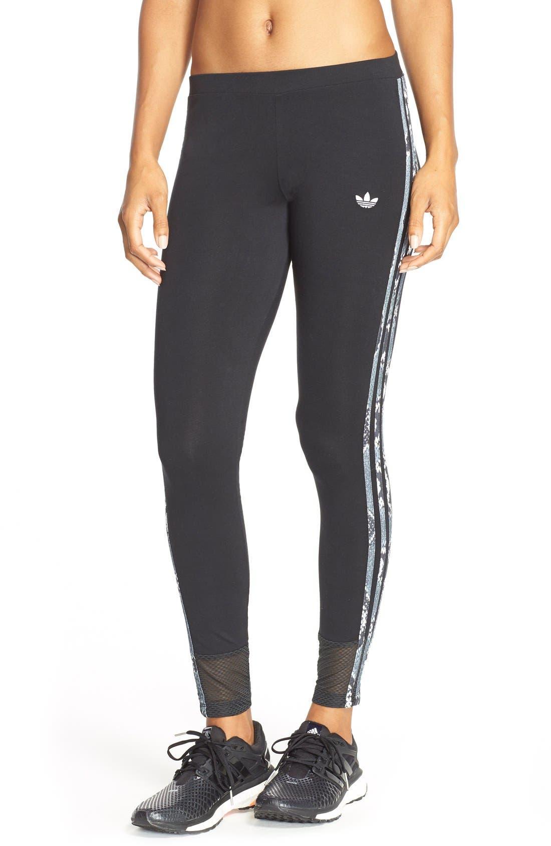 Main Image - adidas Originals 'LA' Trefoil Leggings