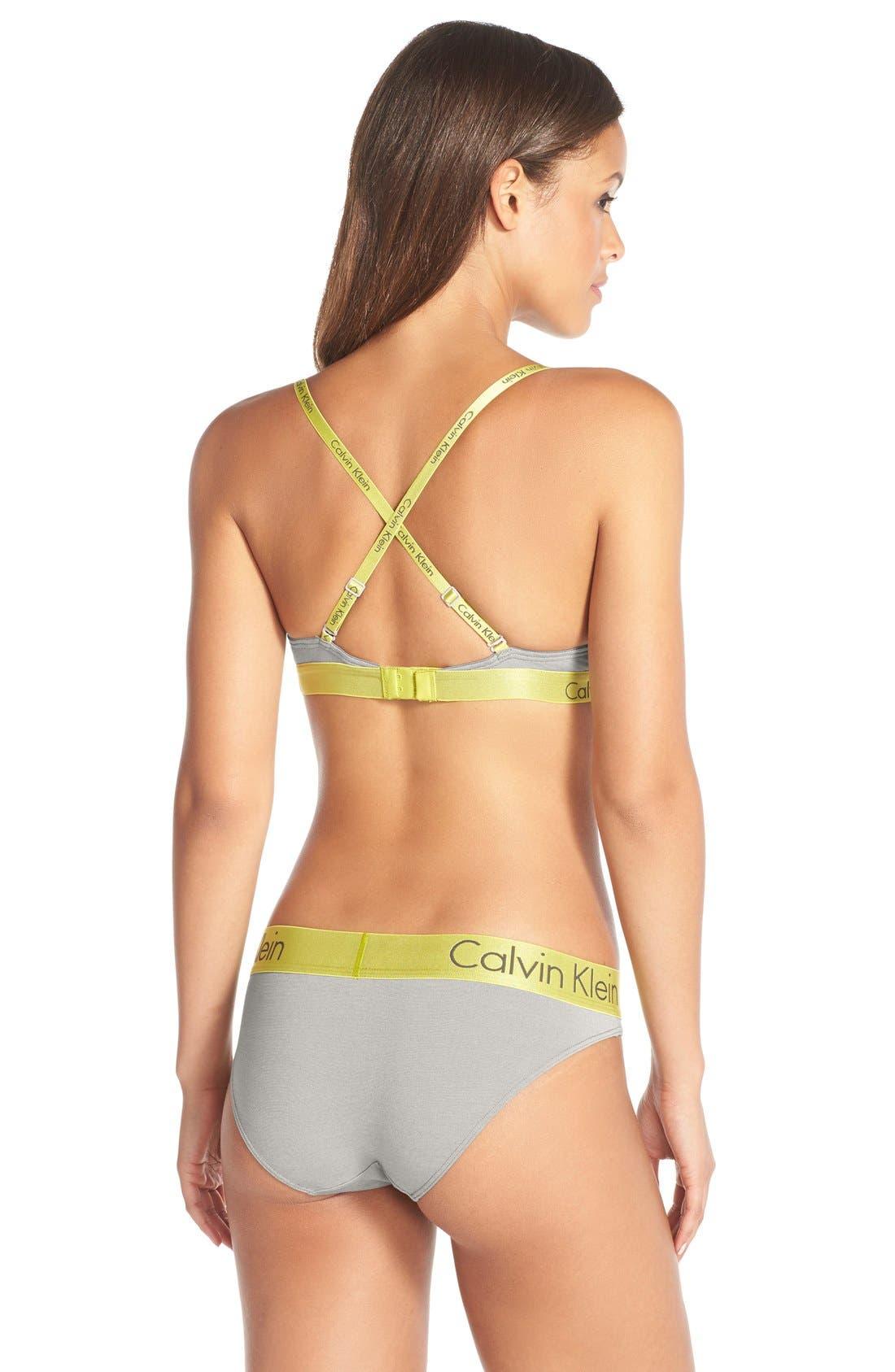 Alternate Image 5  - Calvin Klein 'Dual Tone Natural Lift' Convertible Underwire T-Shirt Bra
