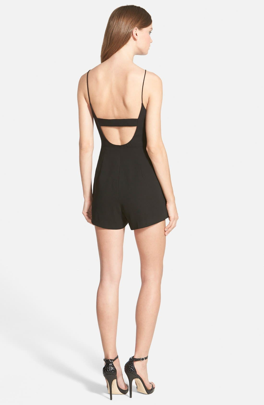 Alternate Image 2  - Finders Keepers the Label 'Speakerbox' Strappy Ruffle Romper