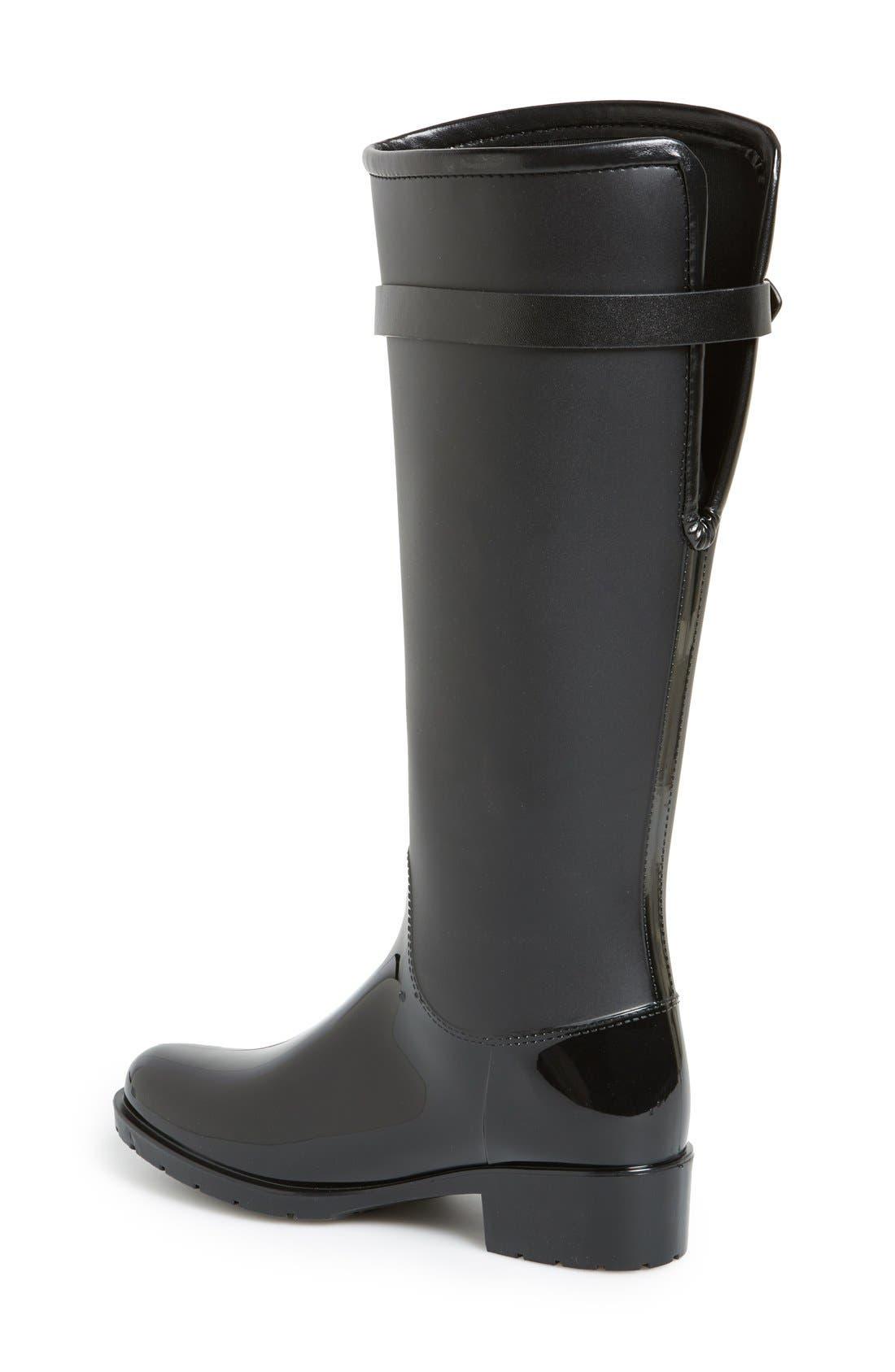 Alternate Image 2  - däv 'Lisbon' Weatherproof Knee High Rain Boot (Women)