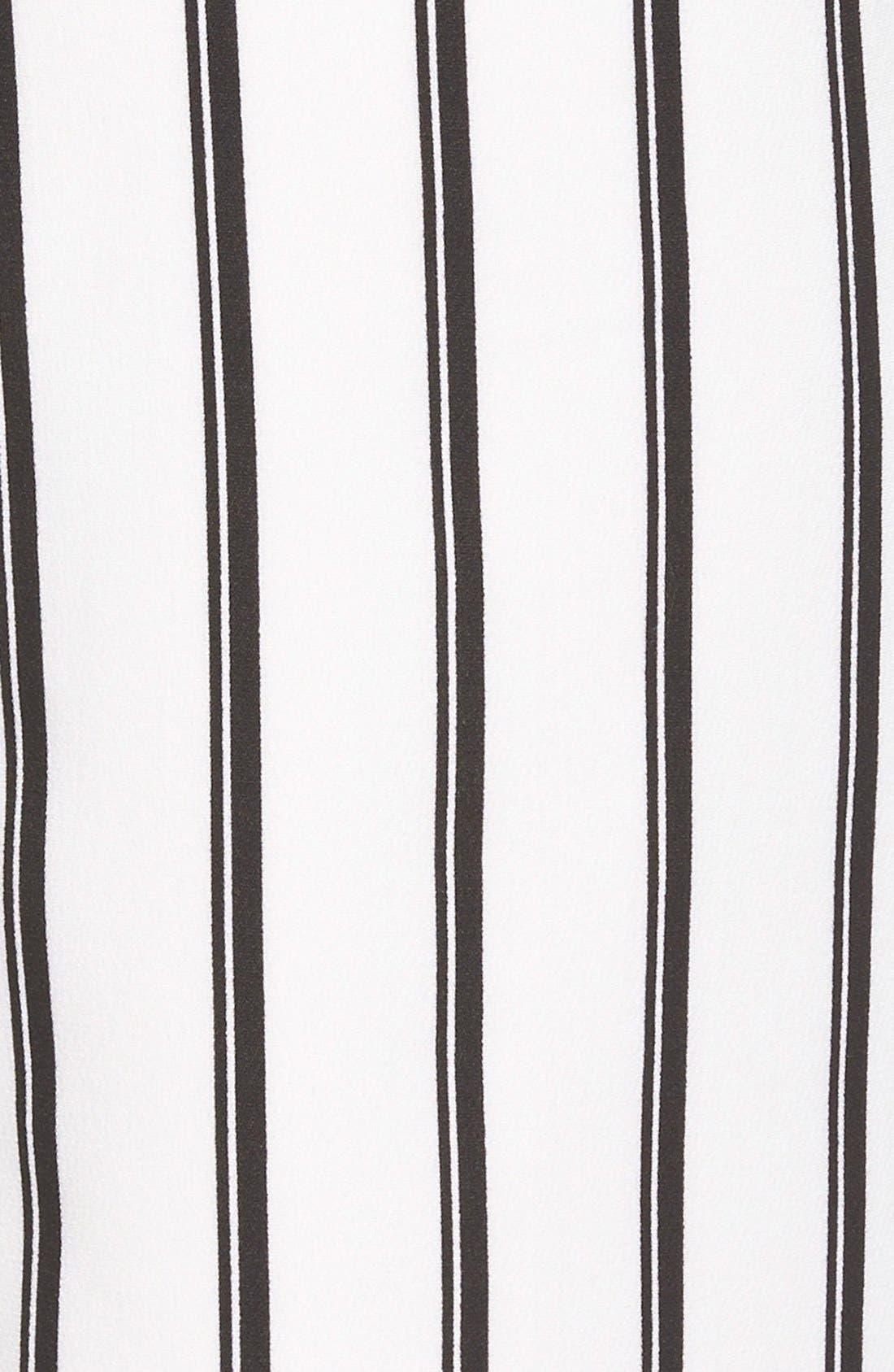 Alternate Image 3  - MissguidedStripe Jumpsuit