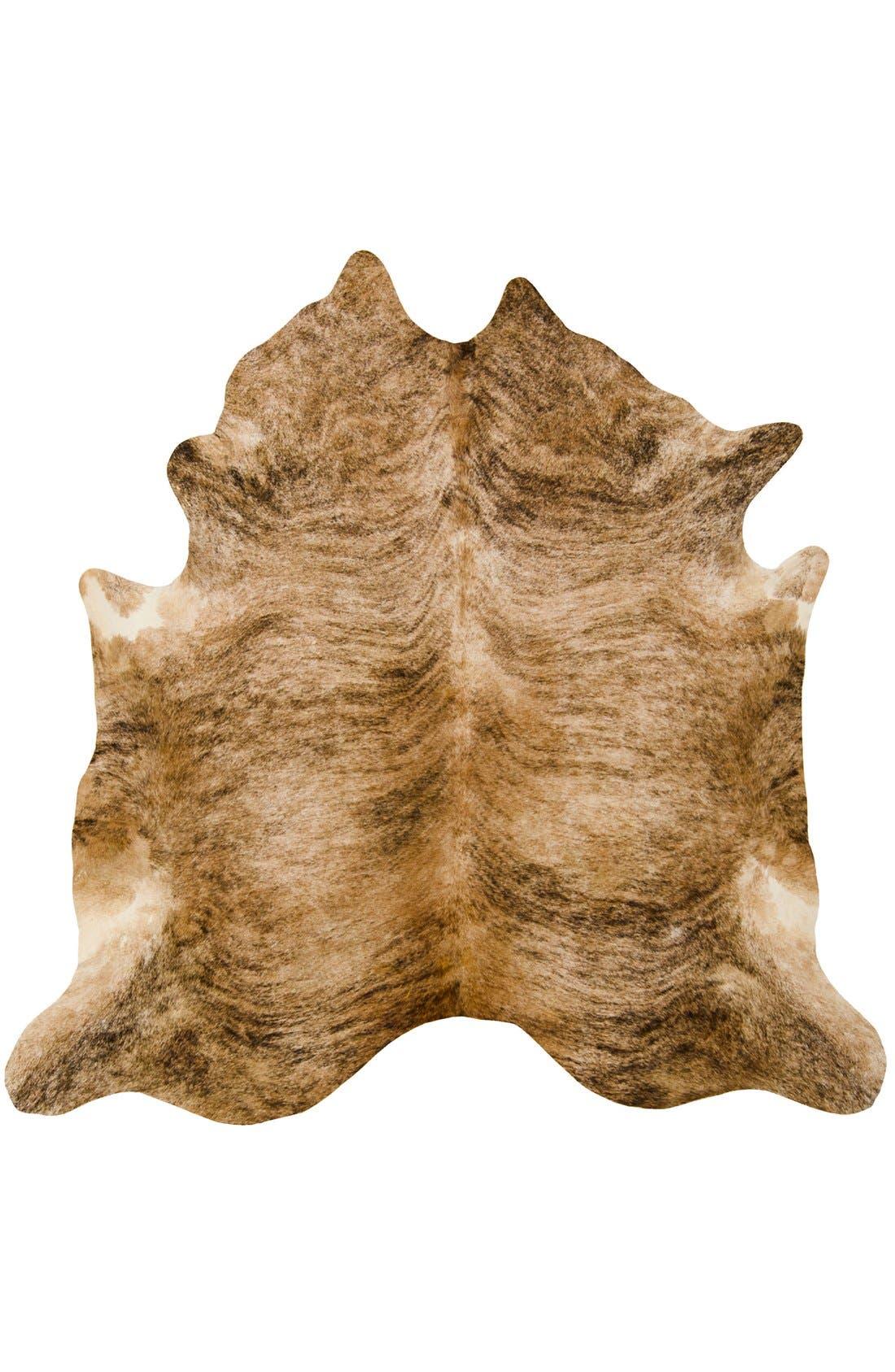 MINA VICTORY Genuine Cowhide Rug