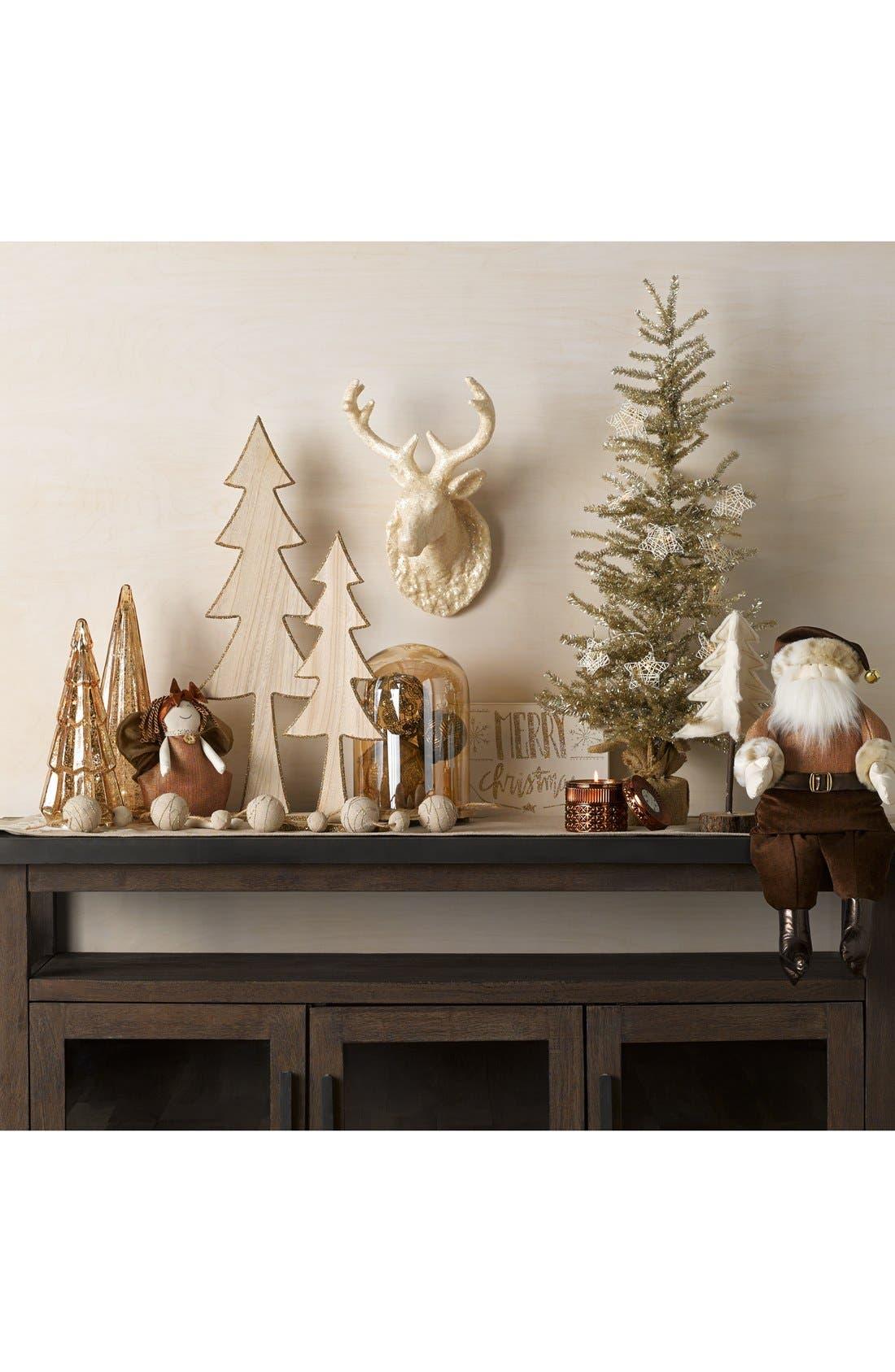 Alternate Image 2  - Creative Co-Op Lighted Glass Christmas Tree