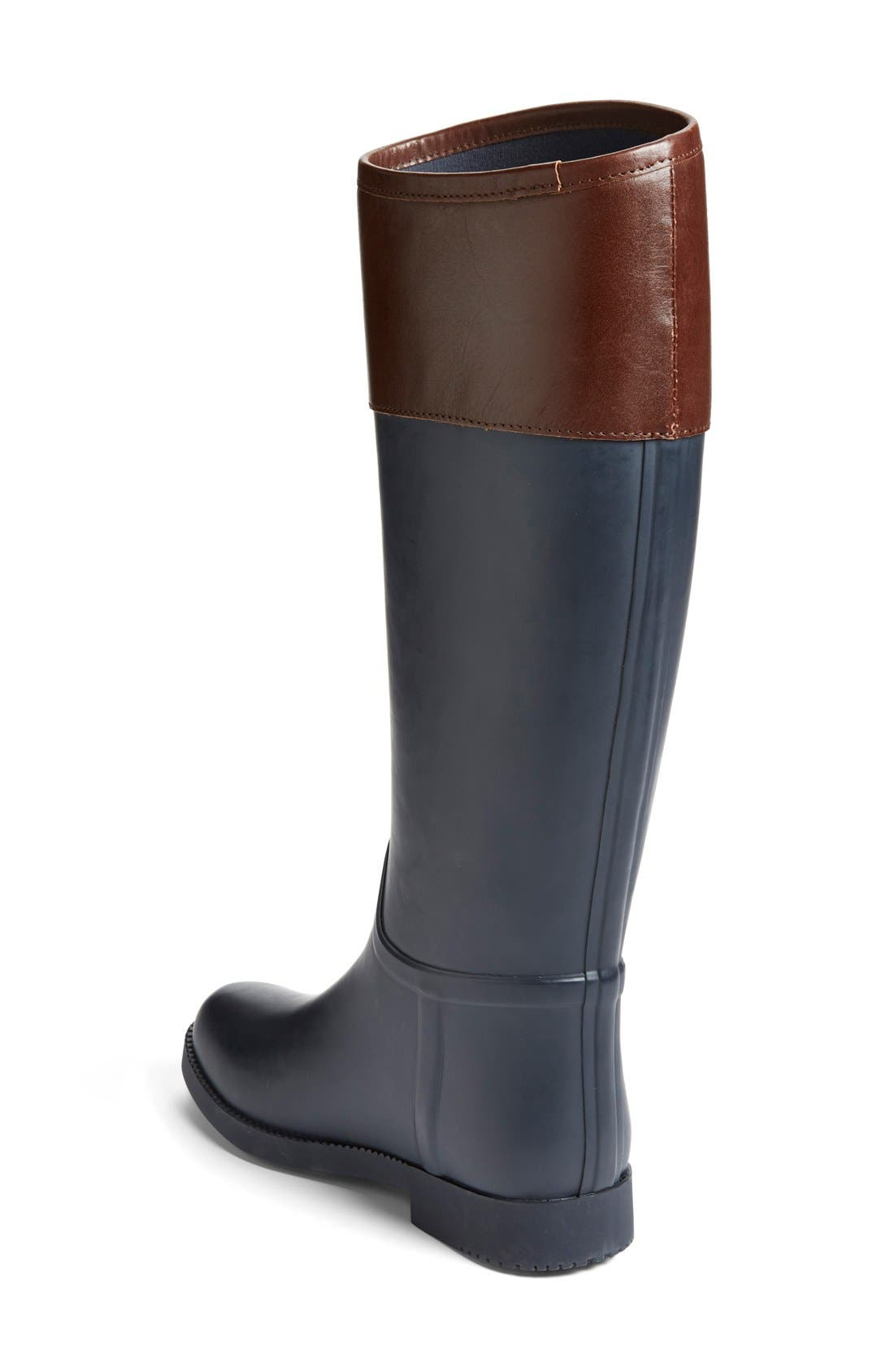 Alternate Image 2  - Tory Burch 'Classic' Rain Boot (Women) (Nordstrom Exclusive)