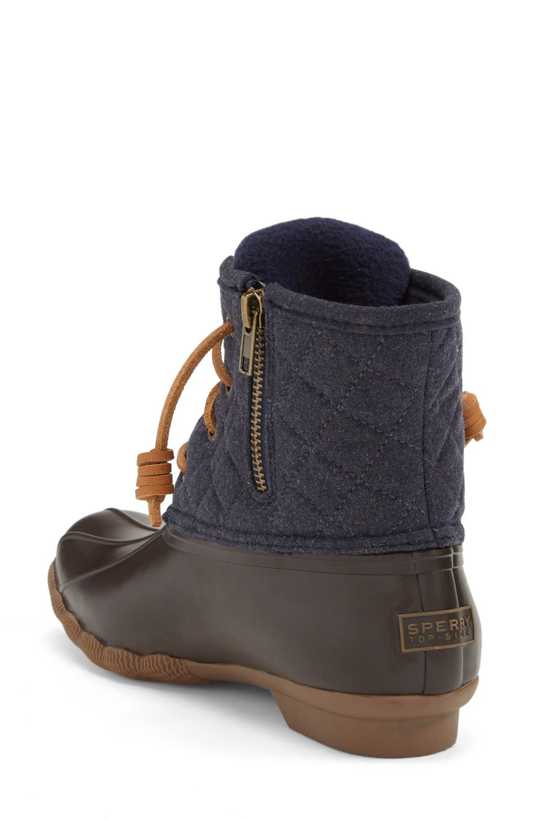 Alternate Image 2  - Sperry 'Saltwater' Waterproof Rain Boot (Women) (Nordstrom Exclusive)