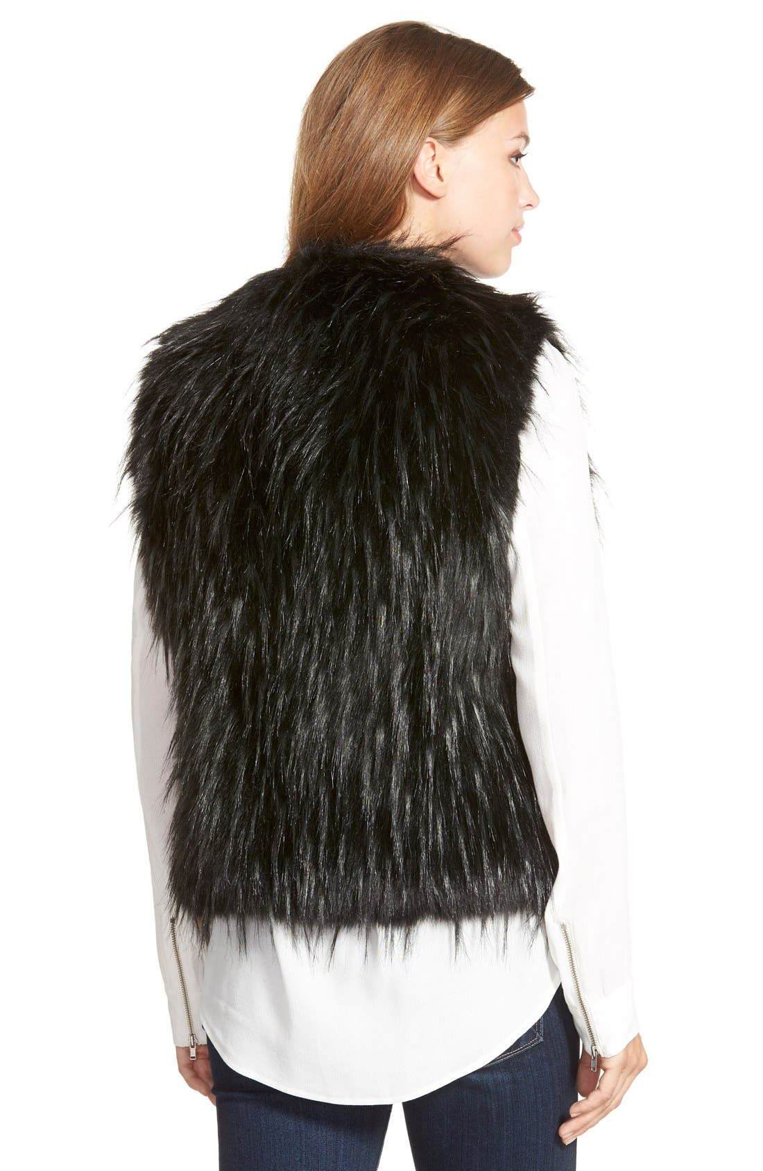 Alternate Image 2  - Ivanka Trump Faux Fur Vest