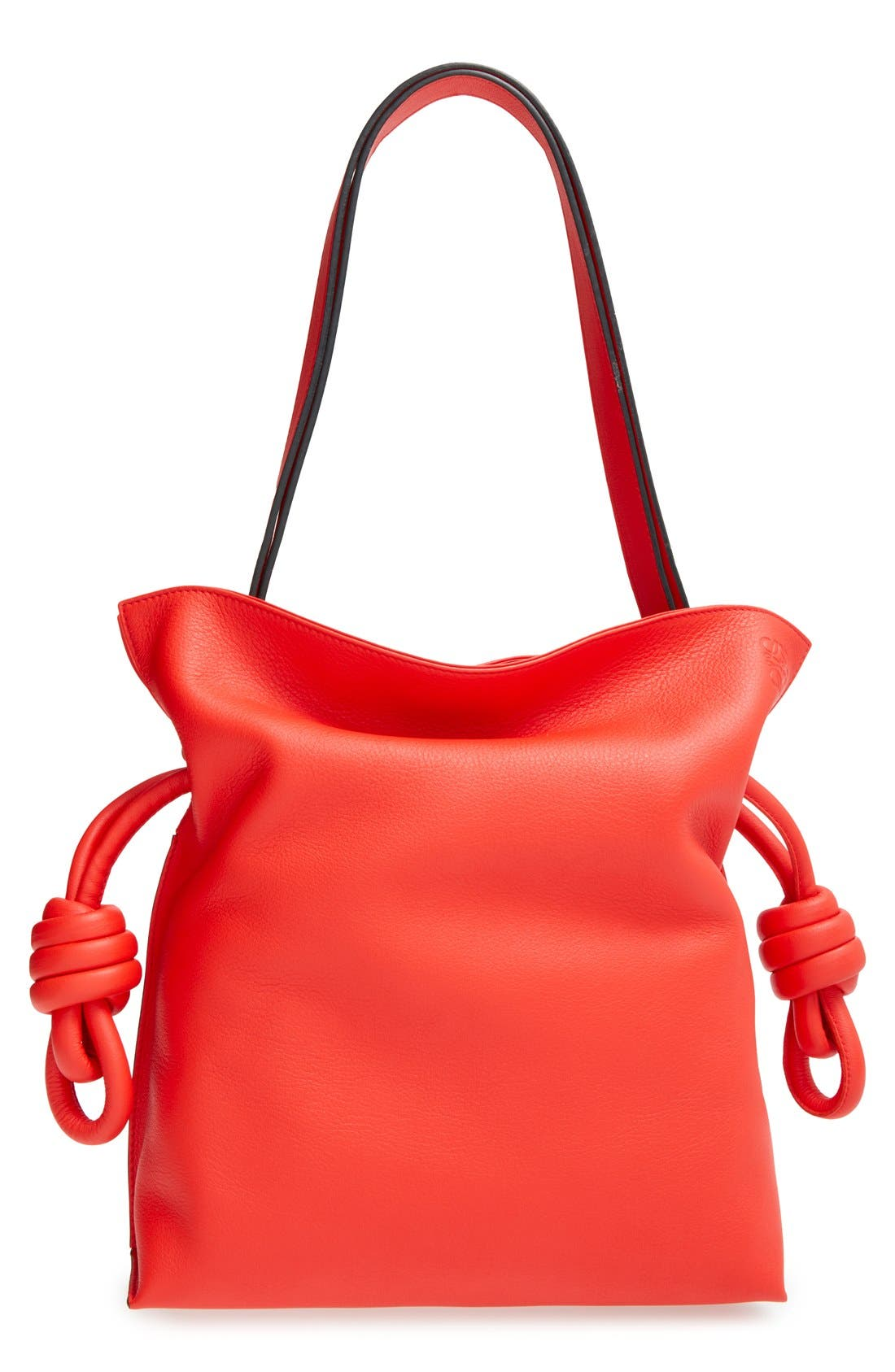 LOEWE 'Small Flamenco Knot' Calfskin Leather Bag