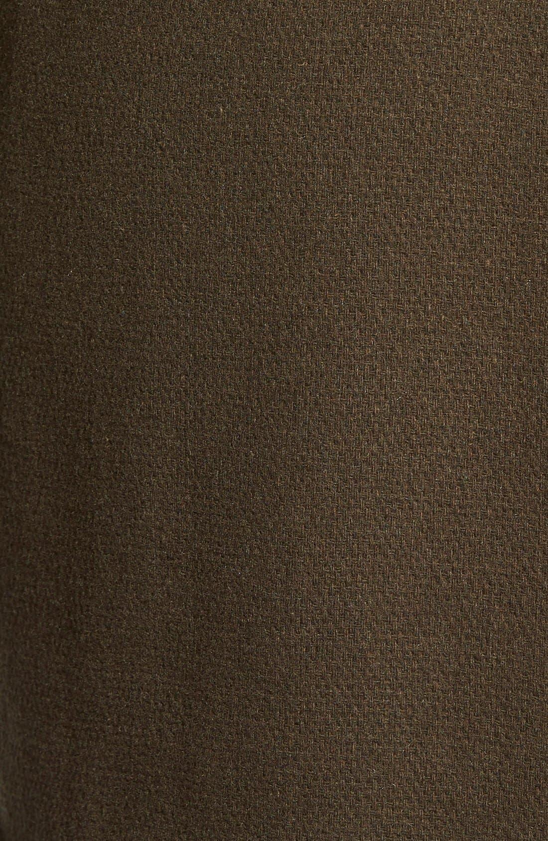 Alternate Image 5  - Calvin Klein Hooded Wool Blend Wrap Coat