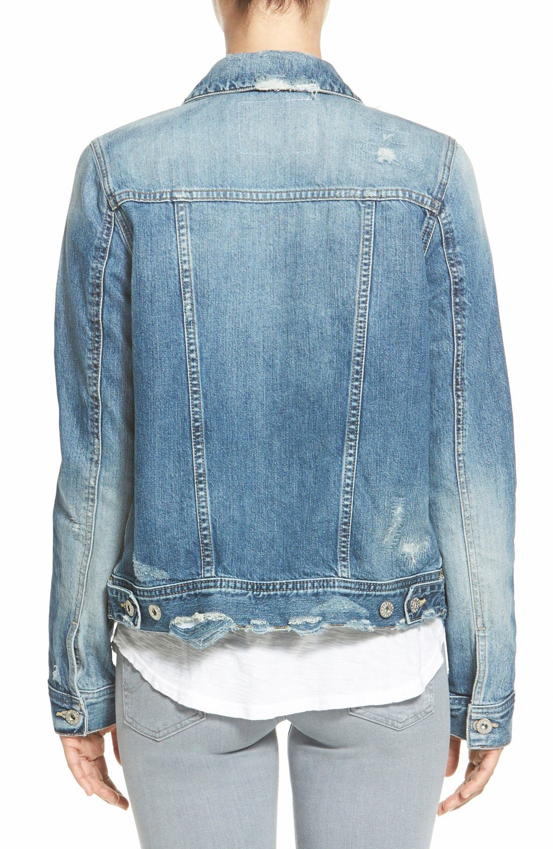 Alternate Image 2  - AG 'Mya' Denim Jacket