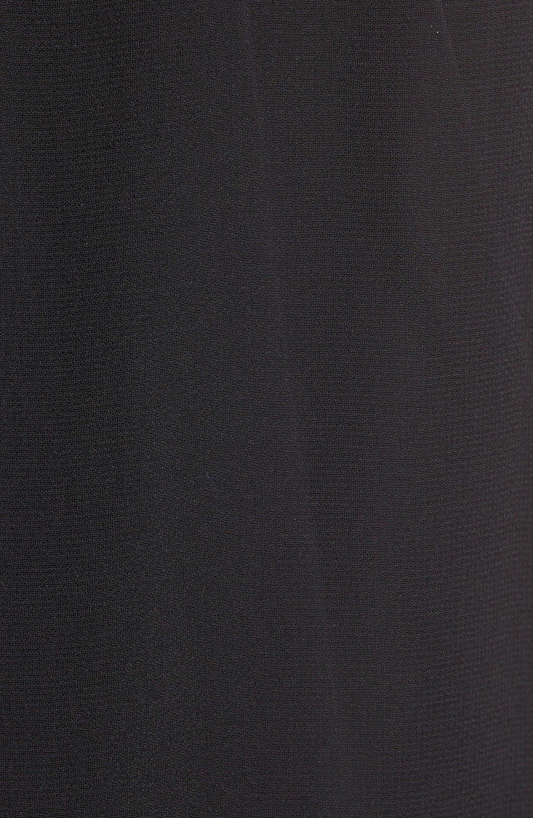 Alternate Image 5  - DKNYC Embellished Fringe Sleeveless Chiffon Top