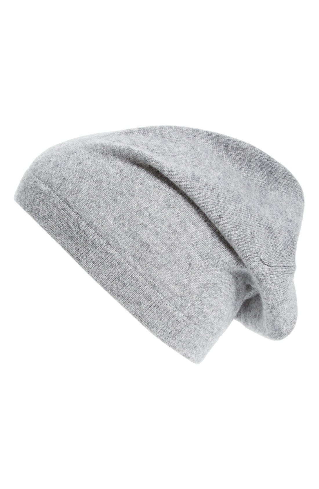 Main Image - The Rail Cashmere Knit Cap