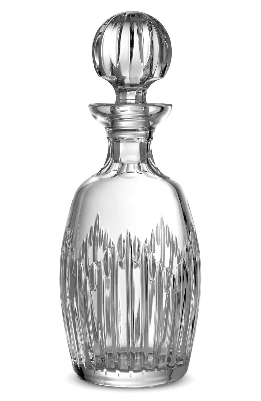 Alternate Image 1 Selected - Monique Lhuillier Waterford 'Stardust' Lead Crystal Decanter & Stopper