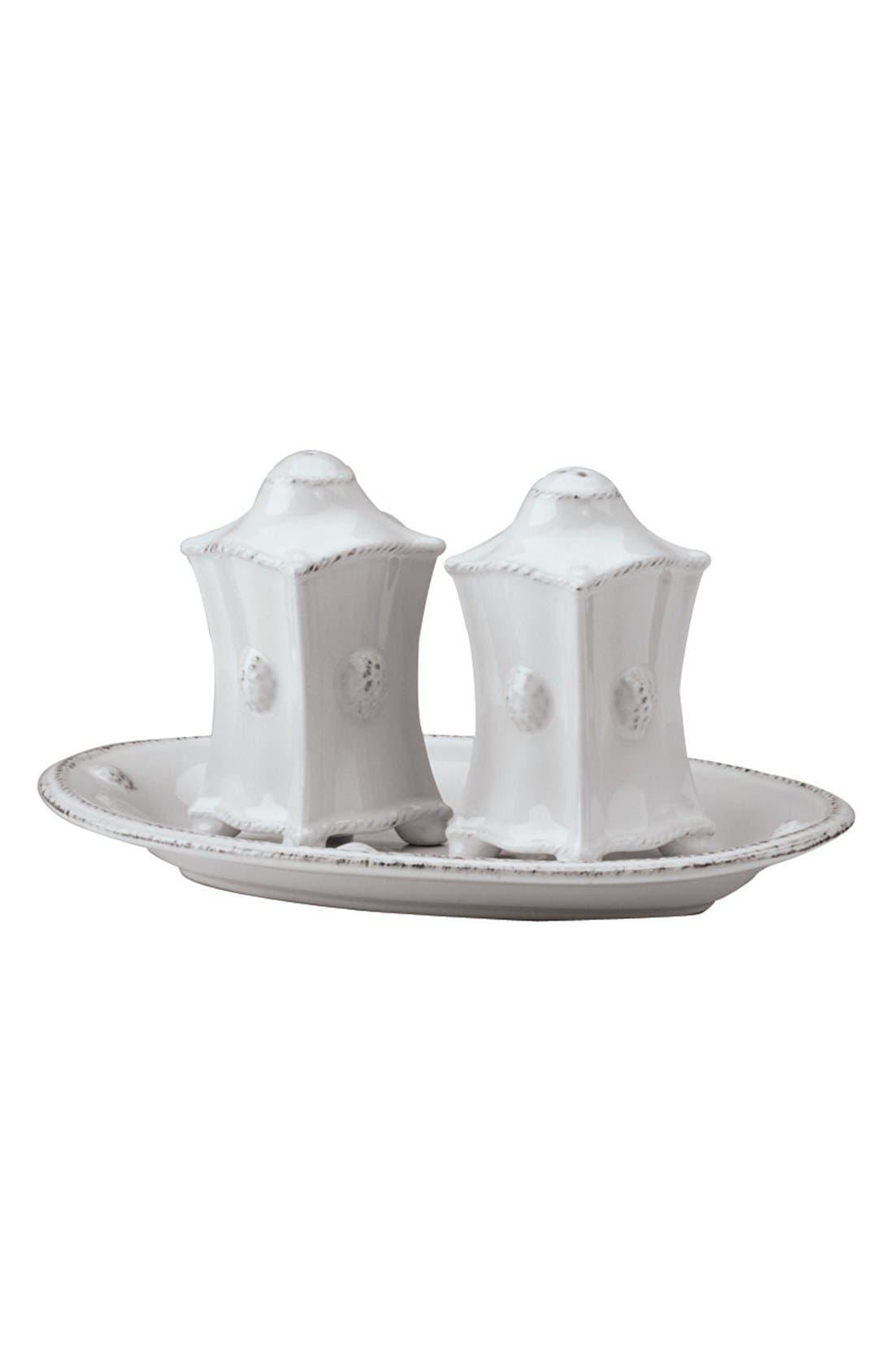 Juliska'Berry and Thread' CeramicSalt & Pepper Shakers