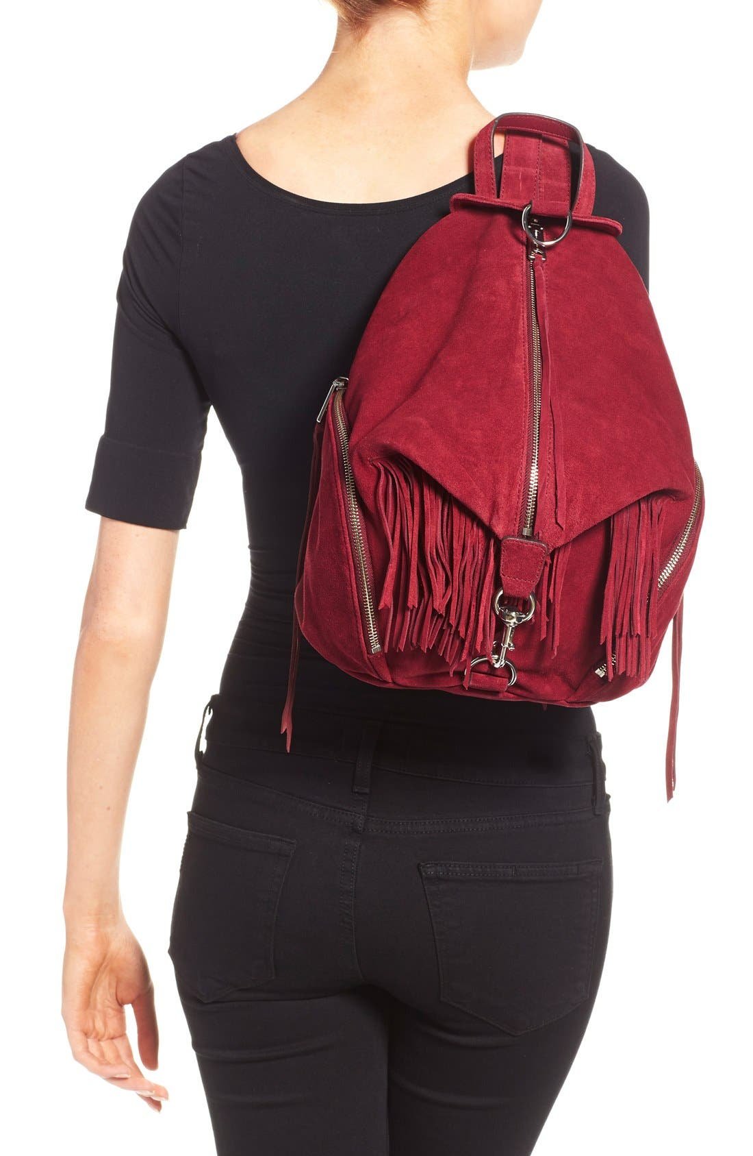Alternate Image 2  - Rebecca Minkoff 'Julian' Leather Backpack