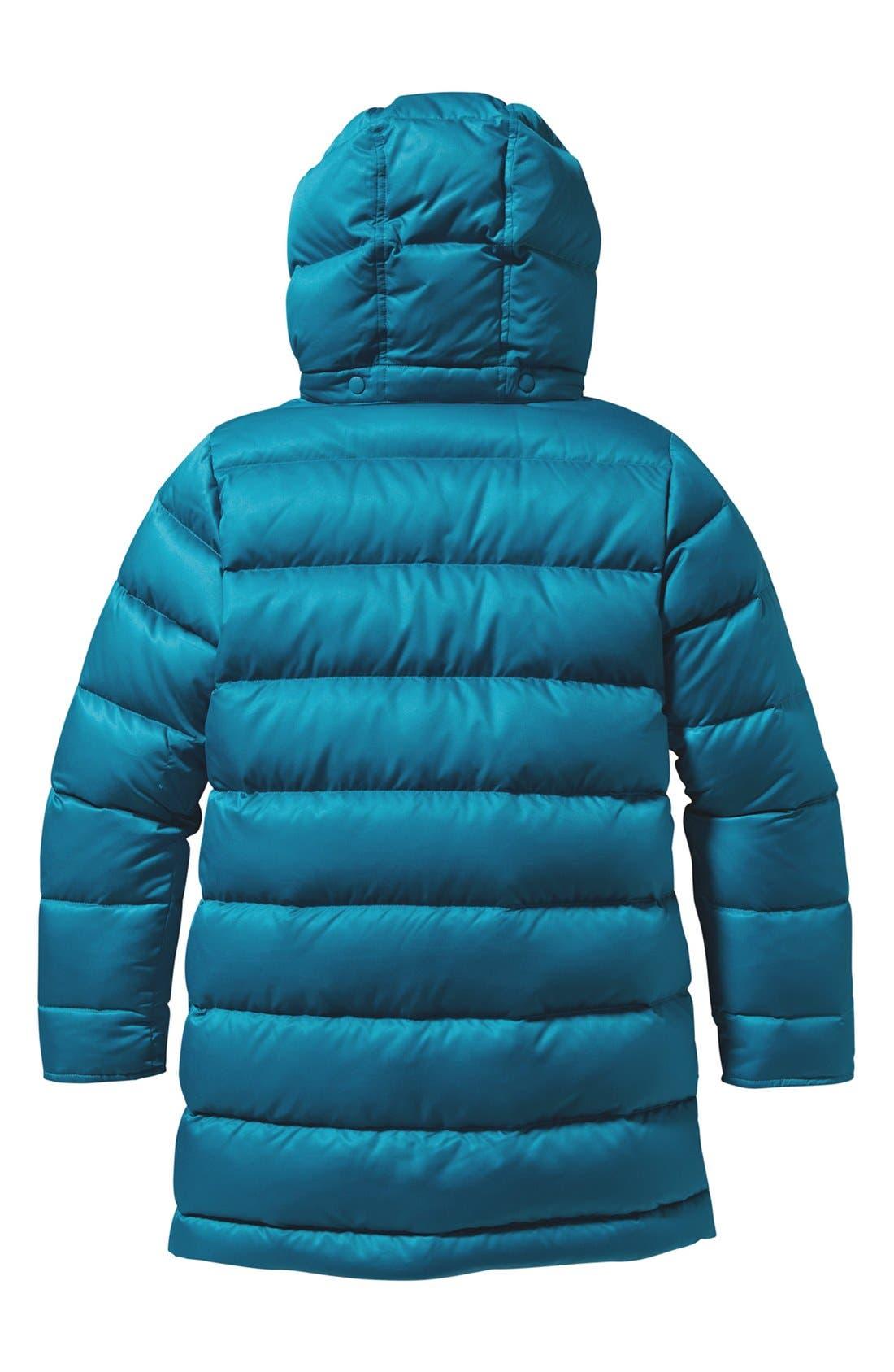 Alternate Image 2  - Patagonia 'Down For Fun' Water Repellent Coat (Little Girls & Big Girls)