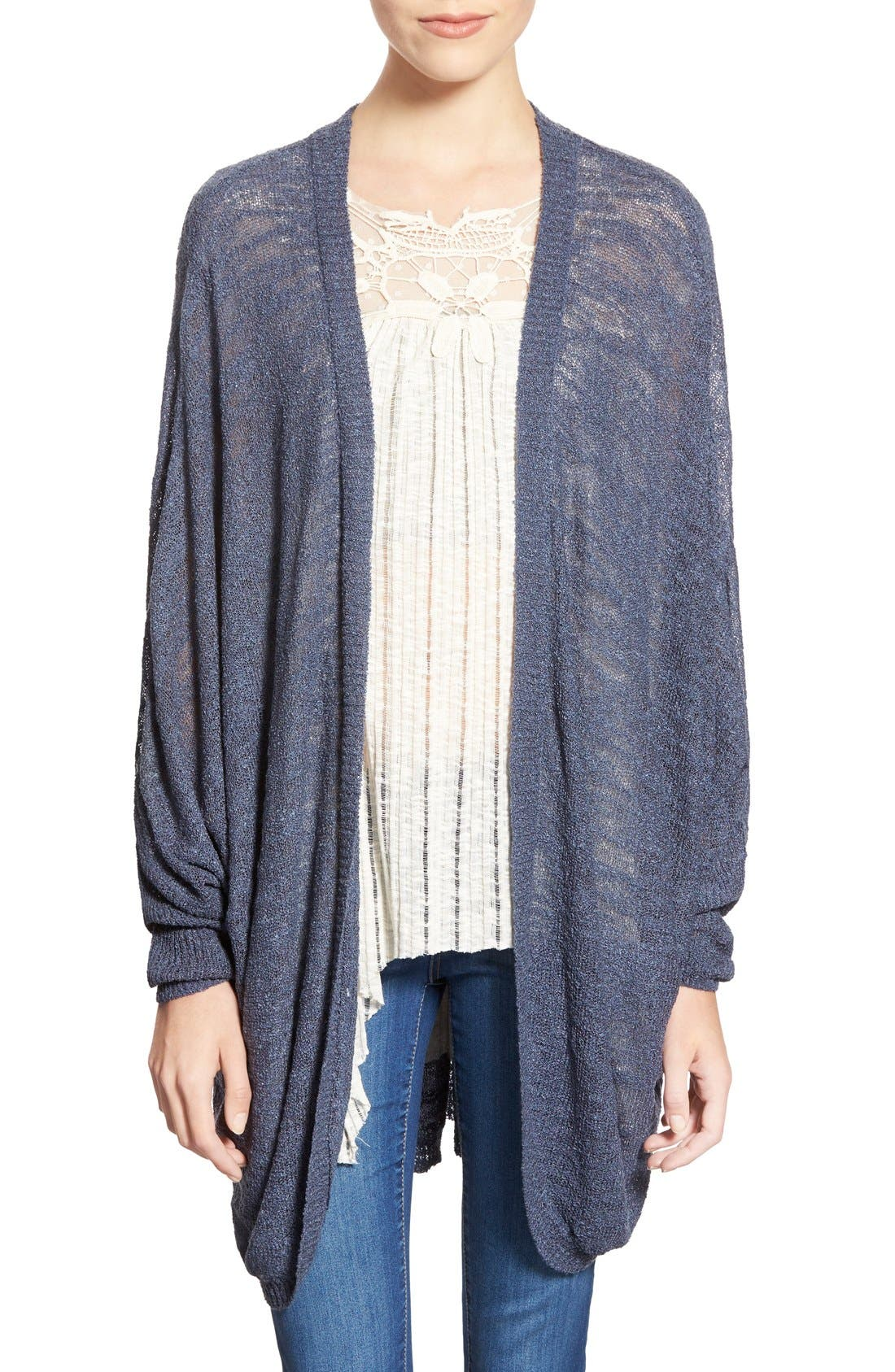 Main Image - BP. Lightweight Open Front Cardigan