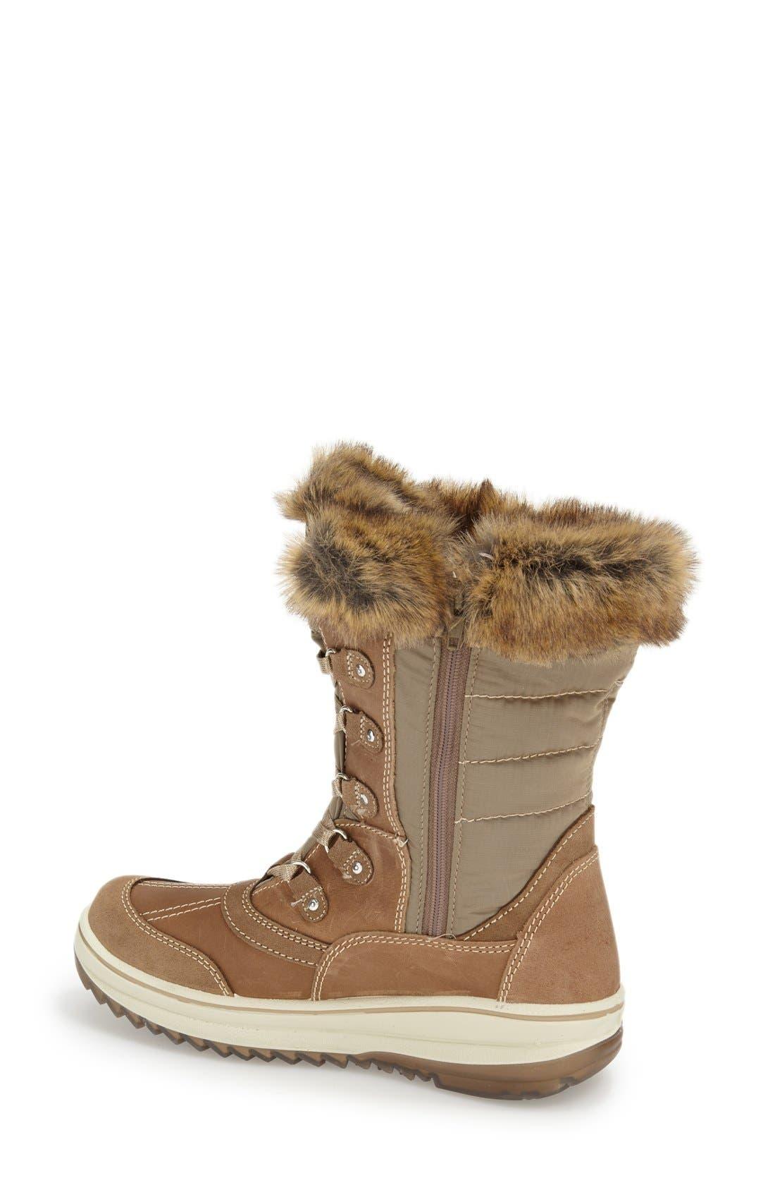 Alternate Image 2  - Santana Canada 'Myrah' Faux Fur Waterproof Boot (Women)