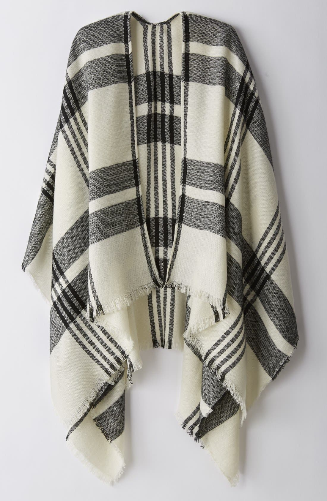 Alternate Image 5  - BP. Plaid Poncho