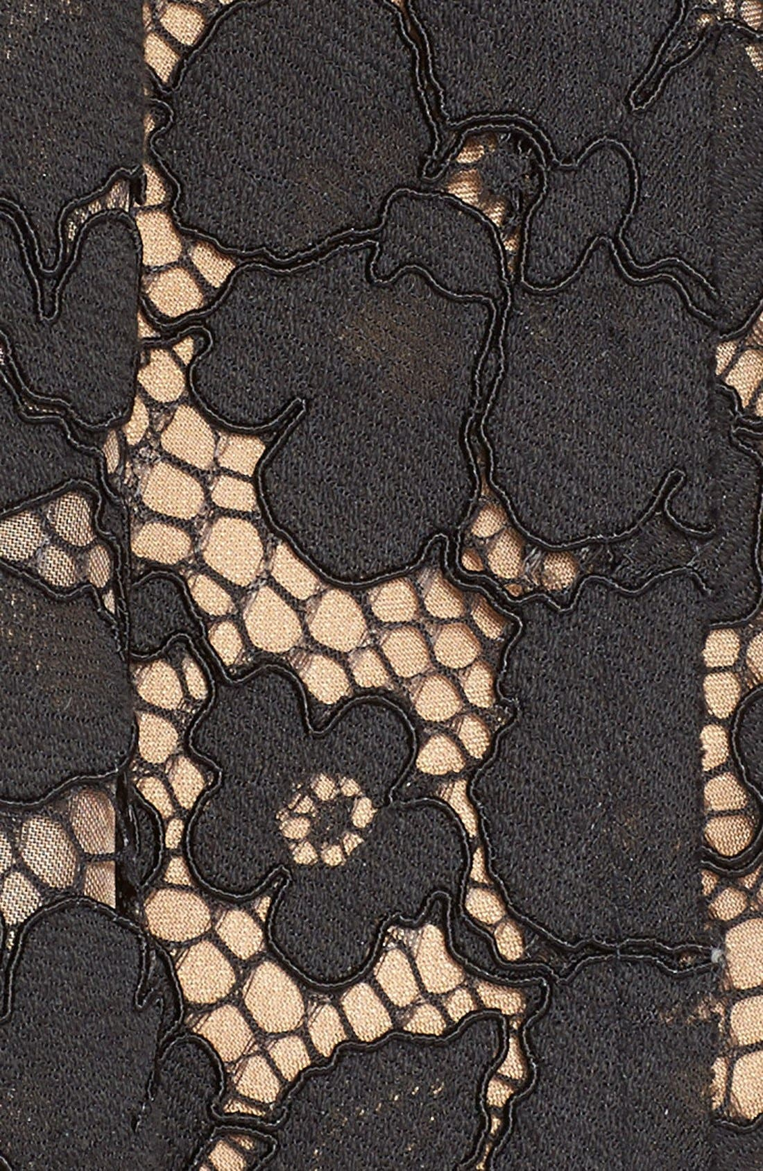 Alternate Image 5  - Tracy Reese Lace Overlay Handkerchief Illusion Dress