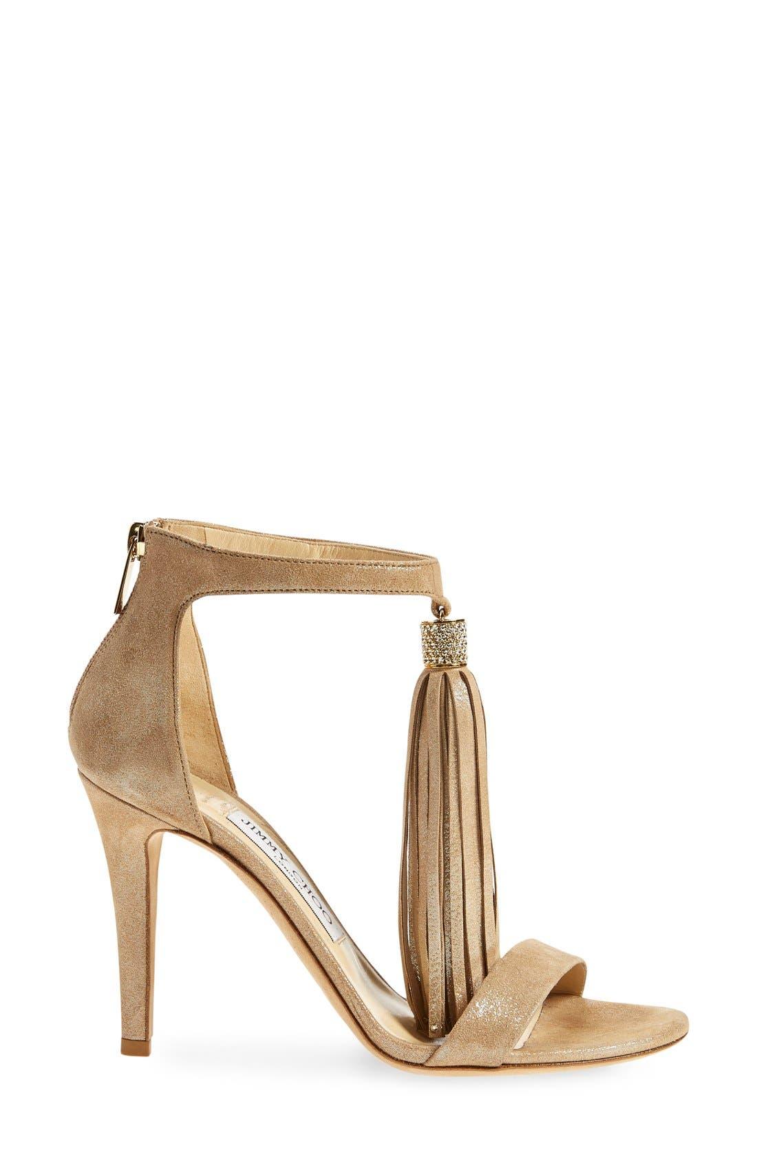 Alternate Image 4  - Jimmy Choo 'Viola' Ankle Strap Sandal (Women)