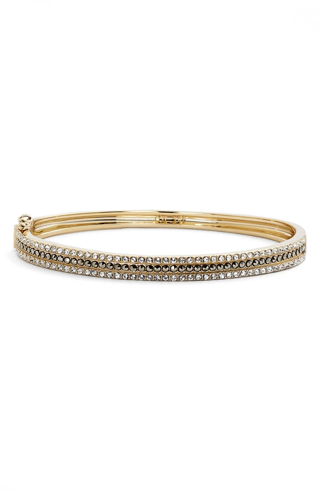 Judith Jack Three Row Bangle Bracelet