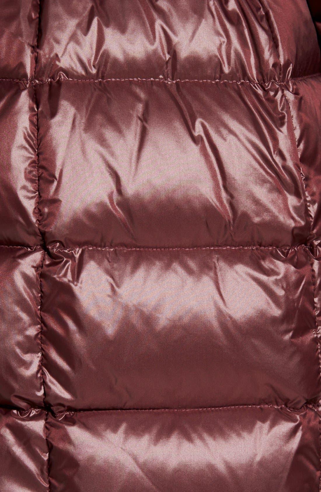 Alternate Image 5  - Andrew Marc 'Tatiana' Belted Down Coat with Genuine Fox & Rabbit Fur Trim