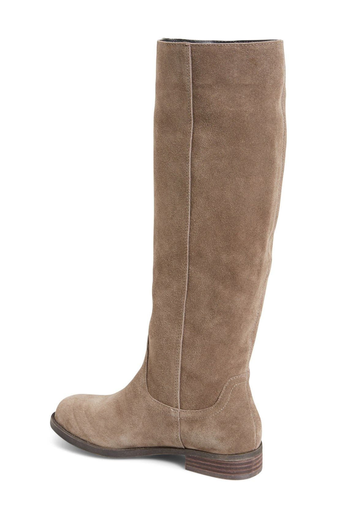 Alternate Image 4  - Sole Society 'Kellini' Suede Knee High Boot (Women)