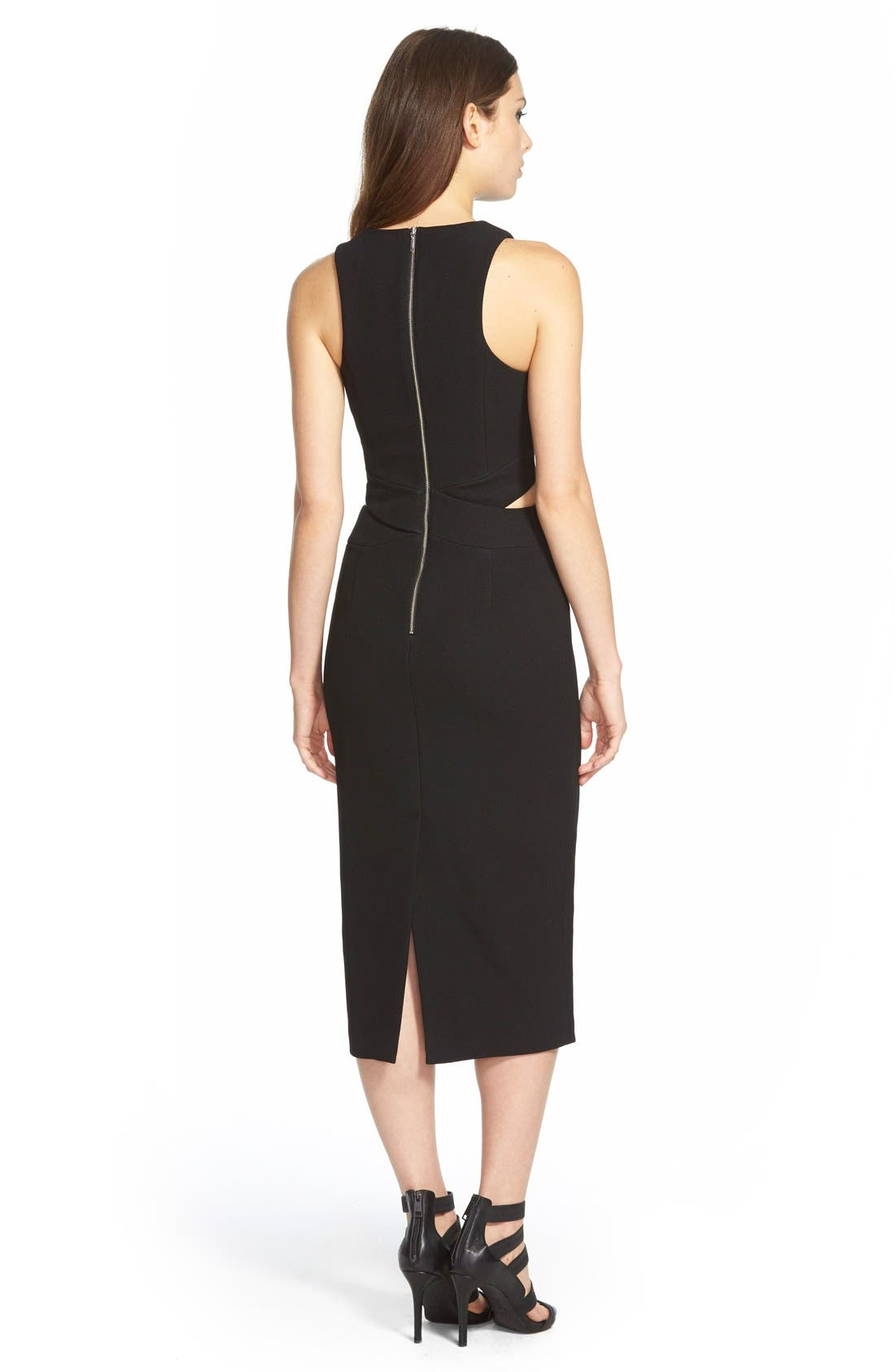 Alternate Image 2  - Finders Keepers the Label 'Take Me Out' MidiDress