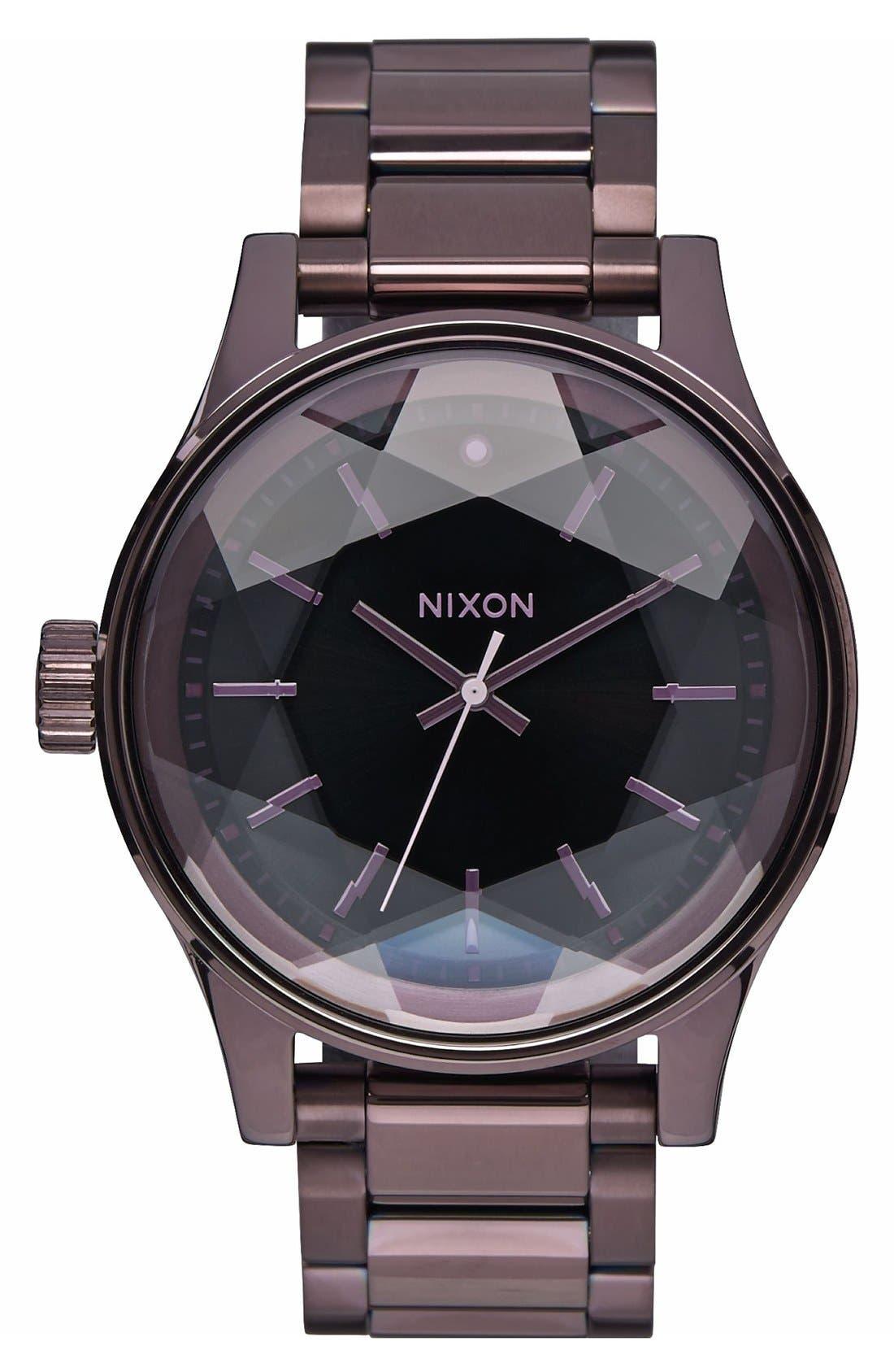 Nixon 'The Facet' Bracelet Watch, 42mm
