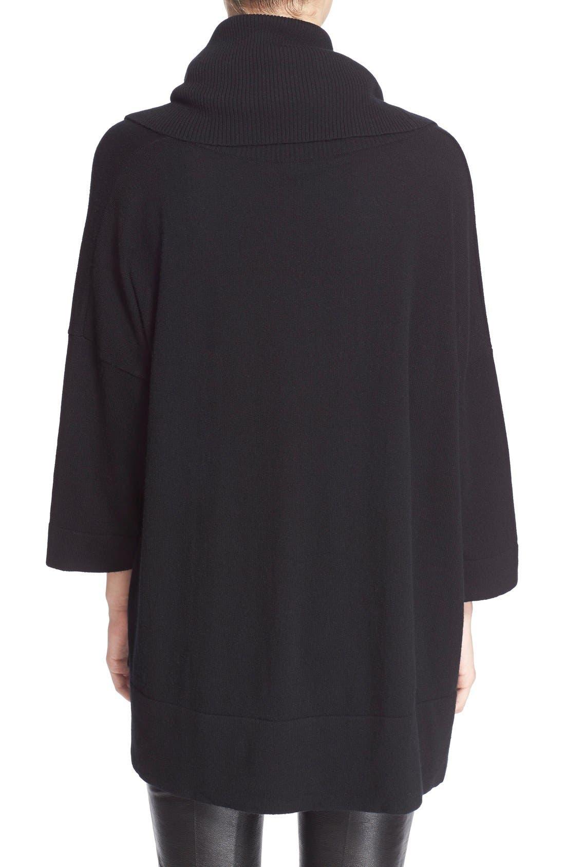 Alternate Image 2  - autumn cashmere Oversized ConvertibleCowl NeckSweater