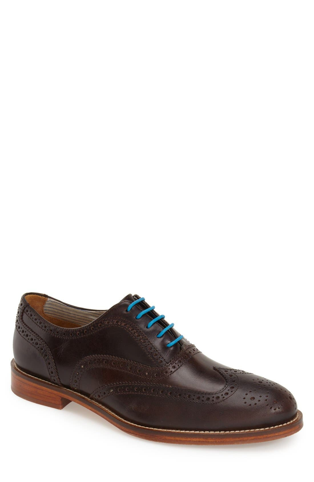 J SHOES 'Charlie Plus' Wingtip Oxford