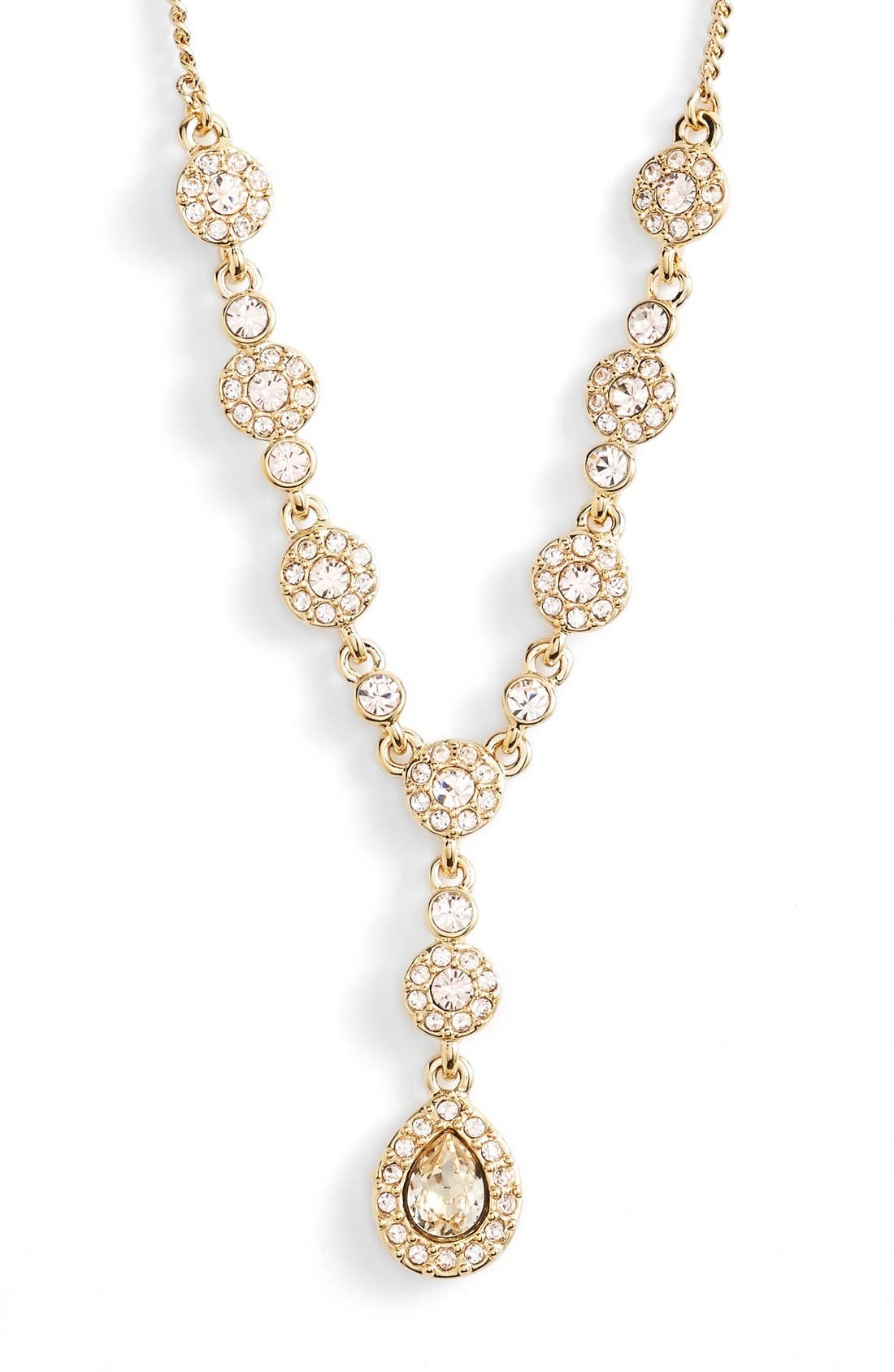 Alternate Image 2  - Givenchy Pavé Crystal Y-Necklace