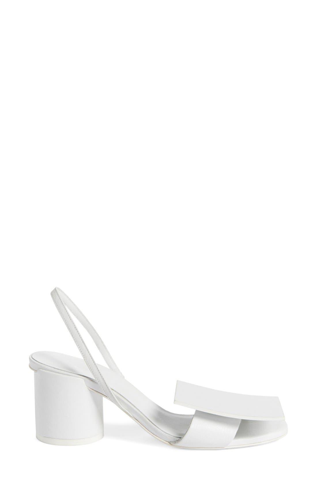 Alternate Image 4  - Jacquemus 'Rond Carré' Slingback Sandal (Women)