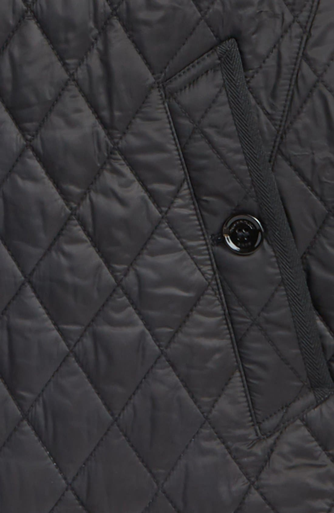 Alternate Image 2  - Burberry Brit 'Howson' Quilted Bomber Jacket