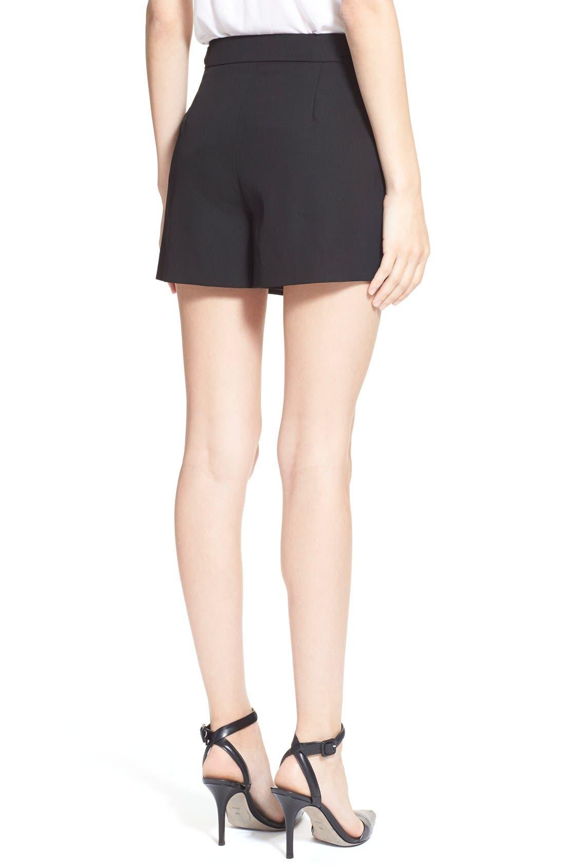 Alternate Image 2  - Alexander Wang Pleated Wool Shorts