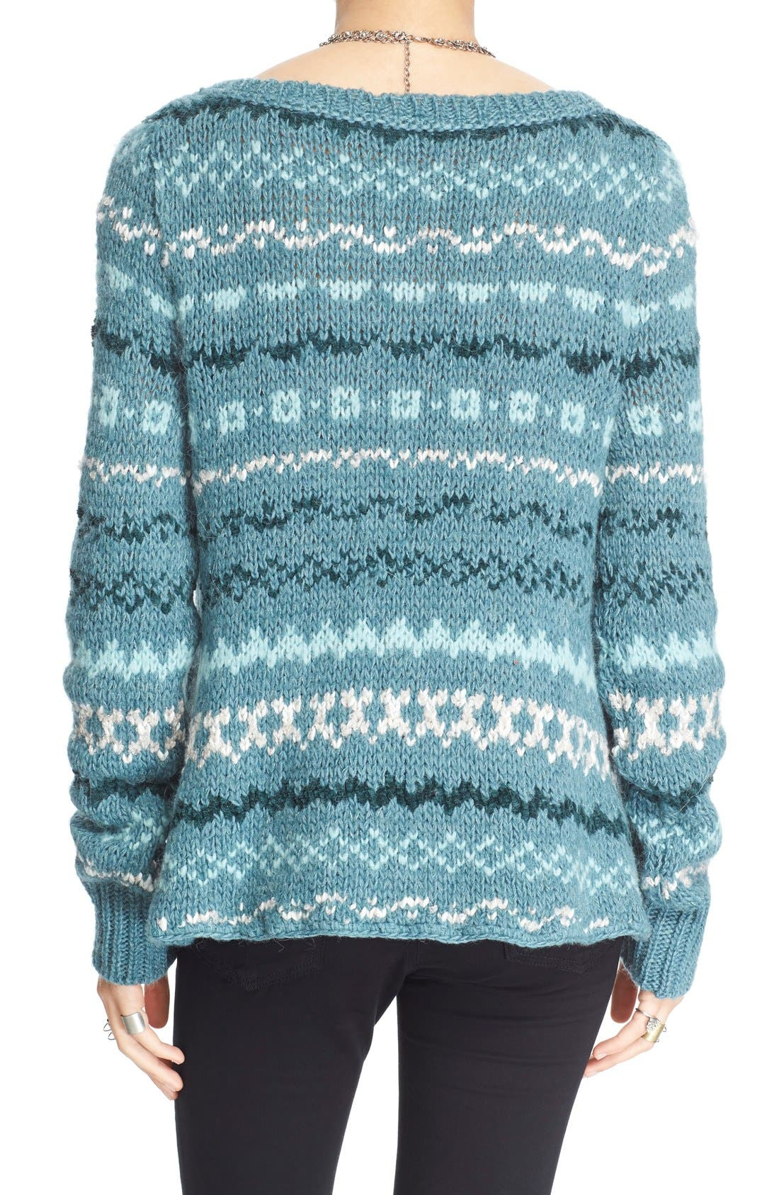 Alternate Image 2  - Free People 'Through the Storm' Sweater
