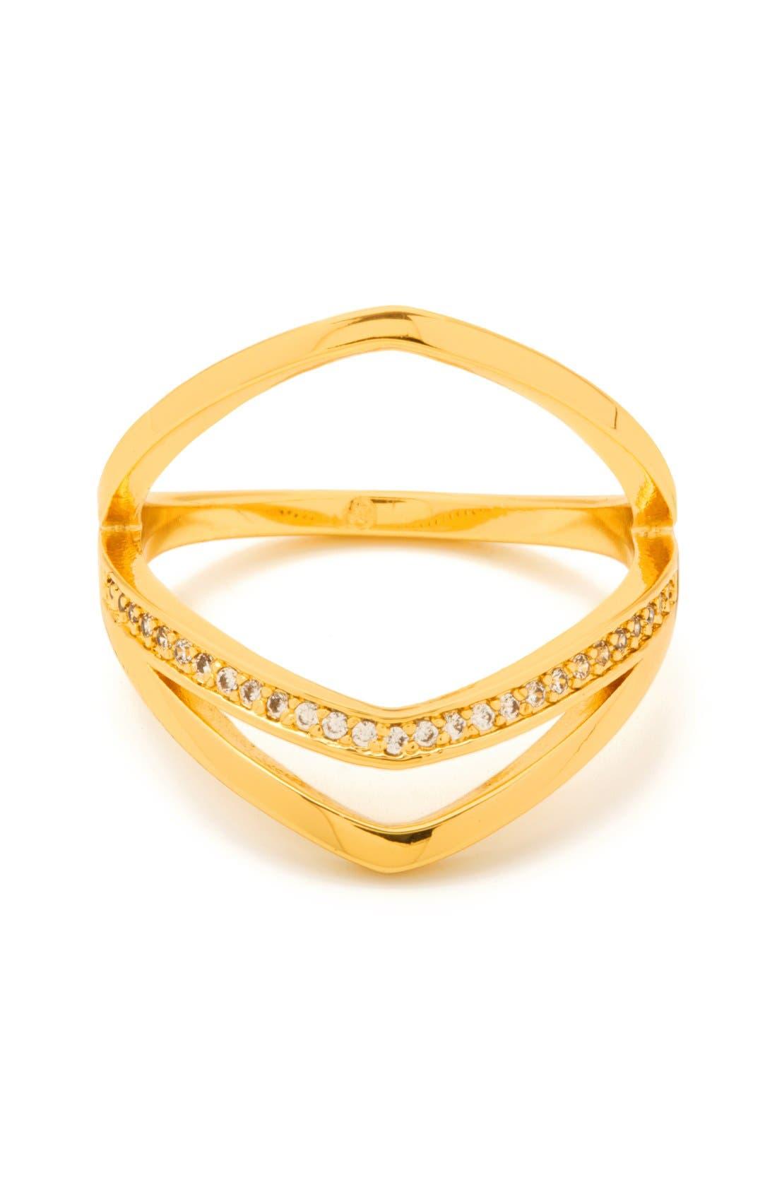 Alternate Image 1 Selected - gorjana 'Cress Shimmer' Split Ring